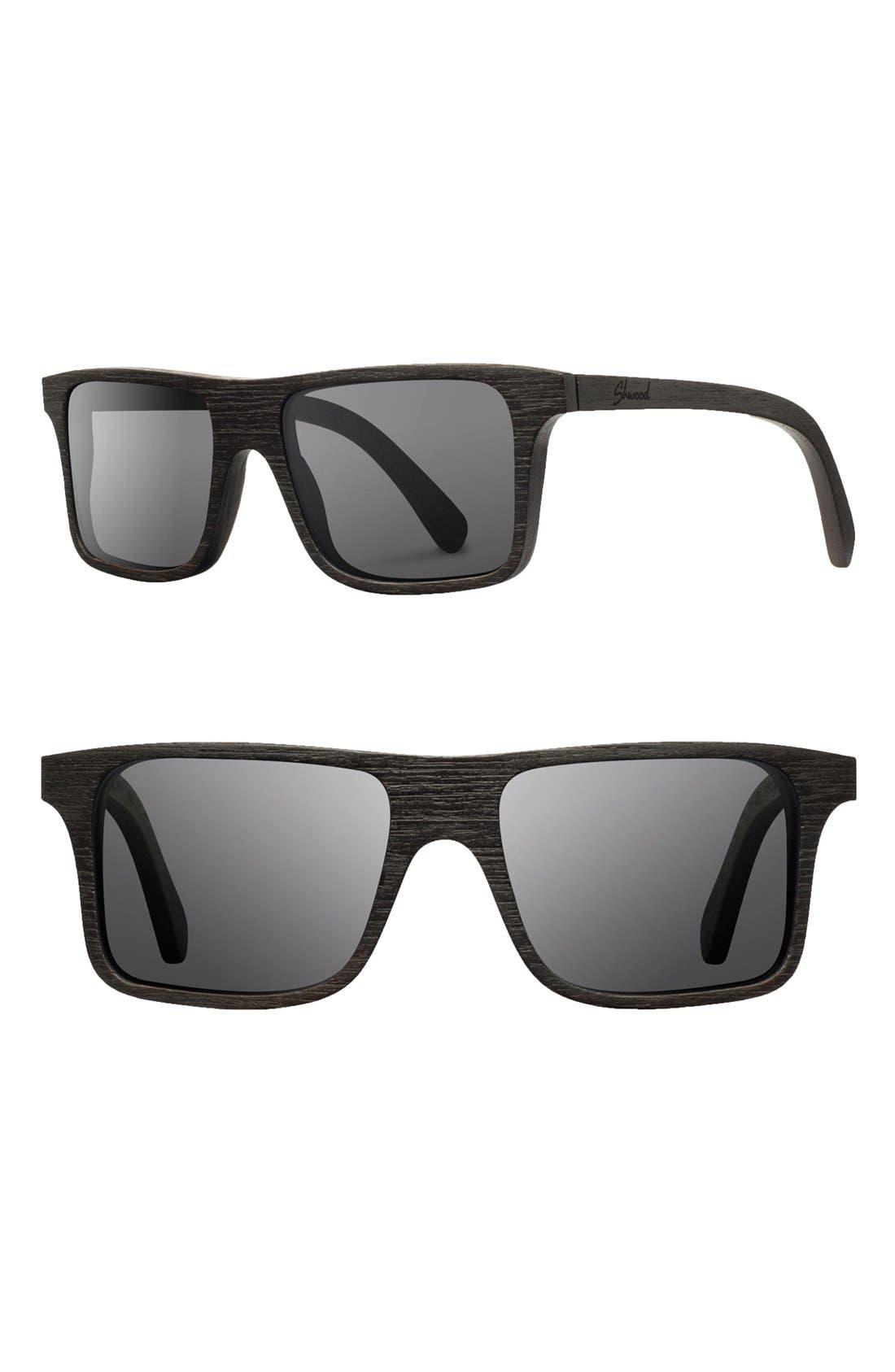 Alternate Image 1 Selected - Shwood 'Govy' 53mm Sunglasses