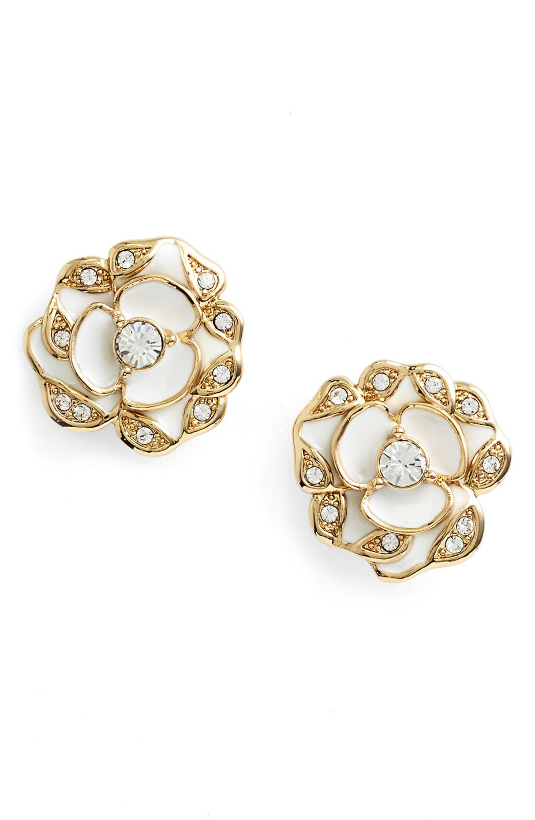 Main Image - kate spade new york 'beach house bouquet' flower stud earrings