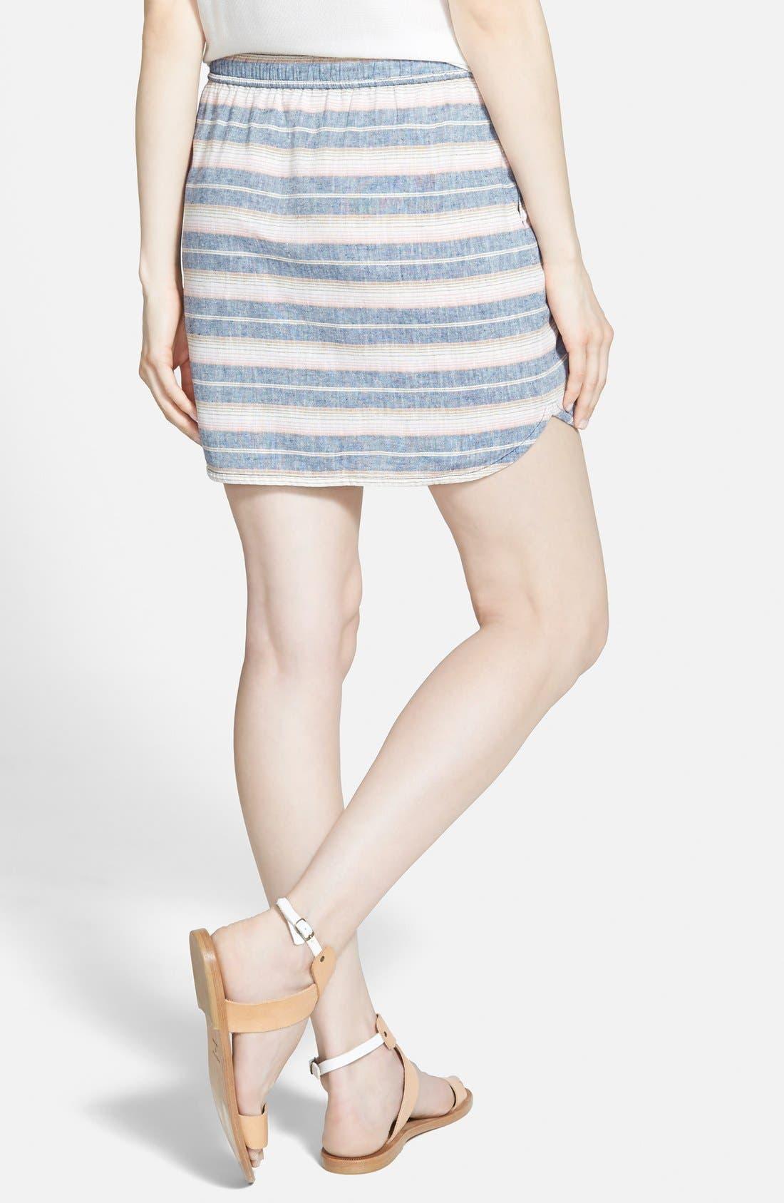 Alternate Image 2  - Hinge Stripe Skirt