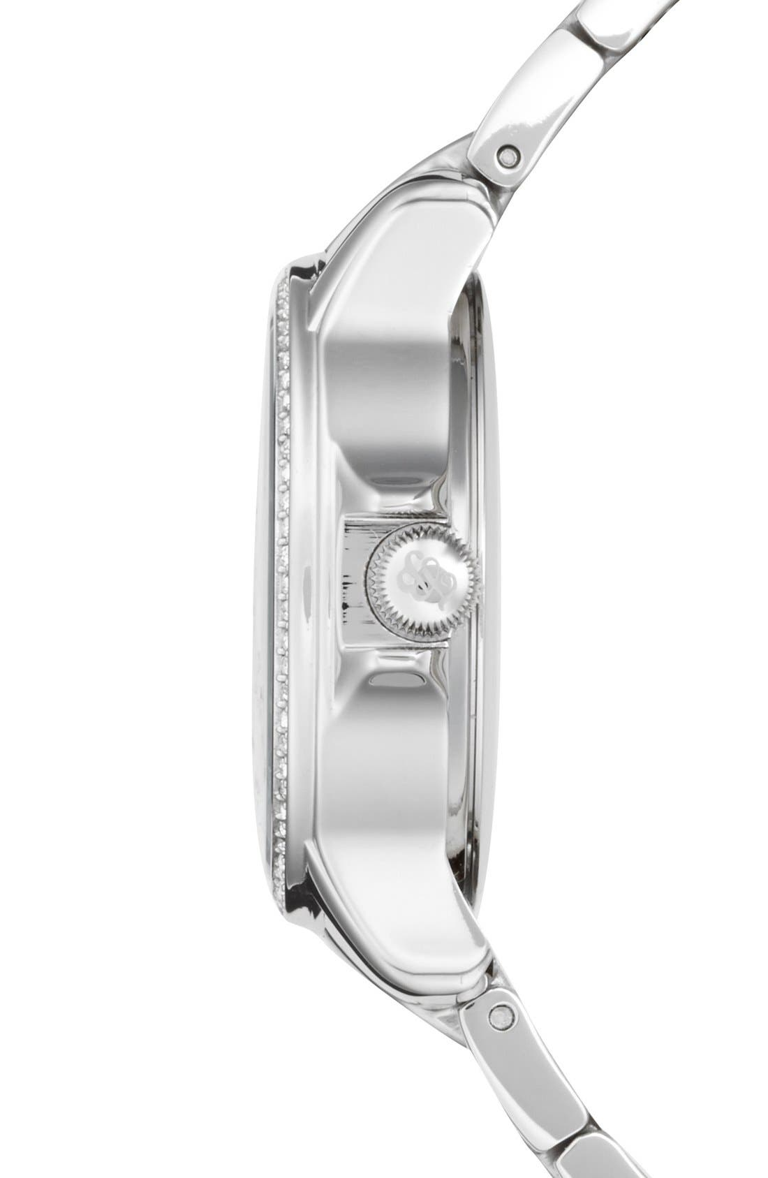Alternate Image 3  - Tommy Bahama 'Island Breeze' Crystal Bezel Bracelet Watch, 33mm
