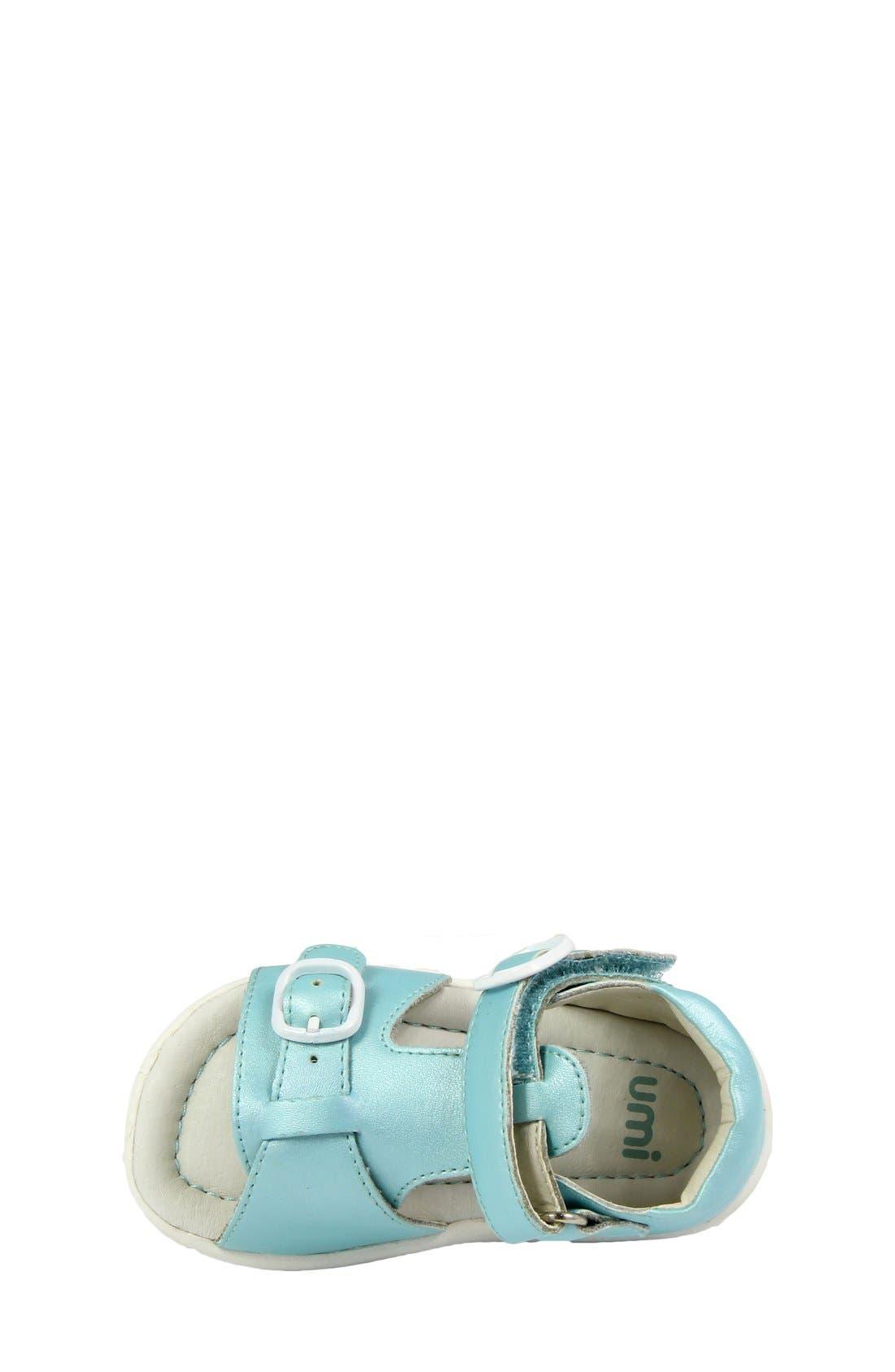Alternate Image 5  - Umi 'Noel' Sandal (Baby, Walker & Toddler)