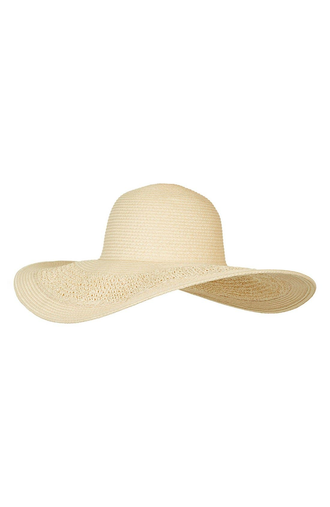 Alternate Image 3  - Topshop Crochet Floppy Hat