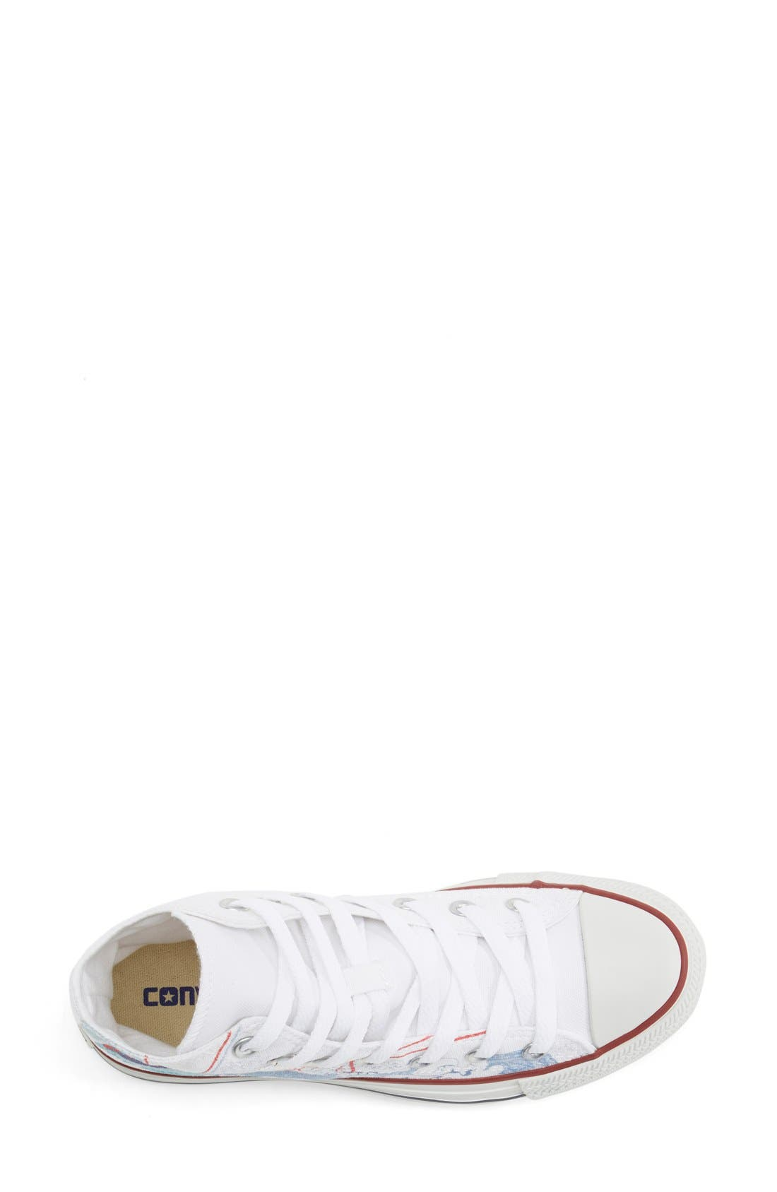 Alternate Image 3  - Converse Chuck Taylor® All Star® 'Made By You - Los Angeles' High Top Sneaker (Women)