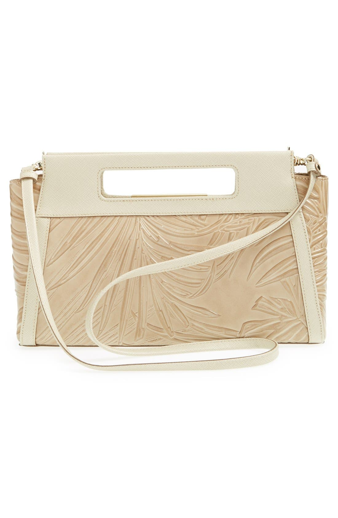 Alternate Image 3  - Brahmin 'Lenox' Embossed Leather Clutch