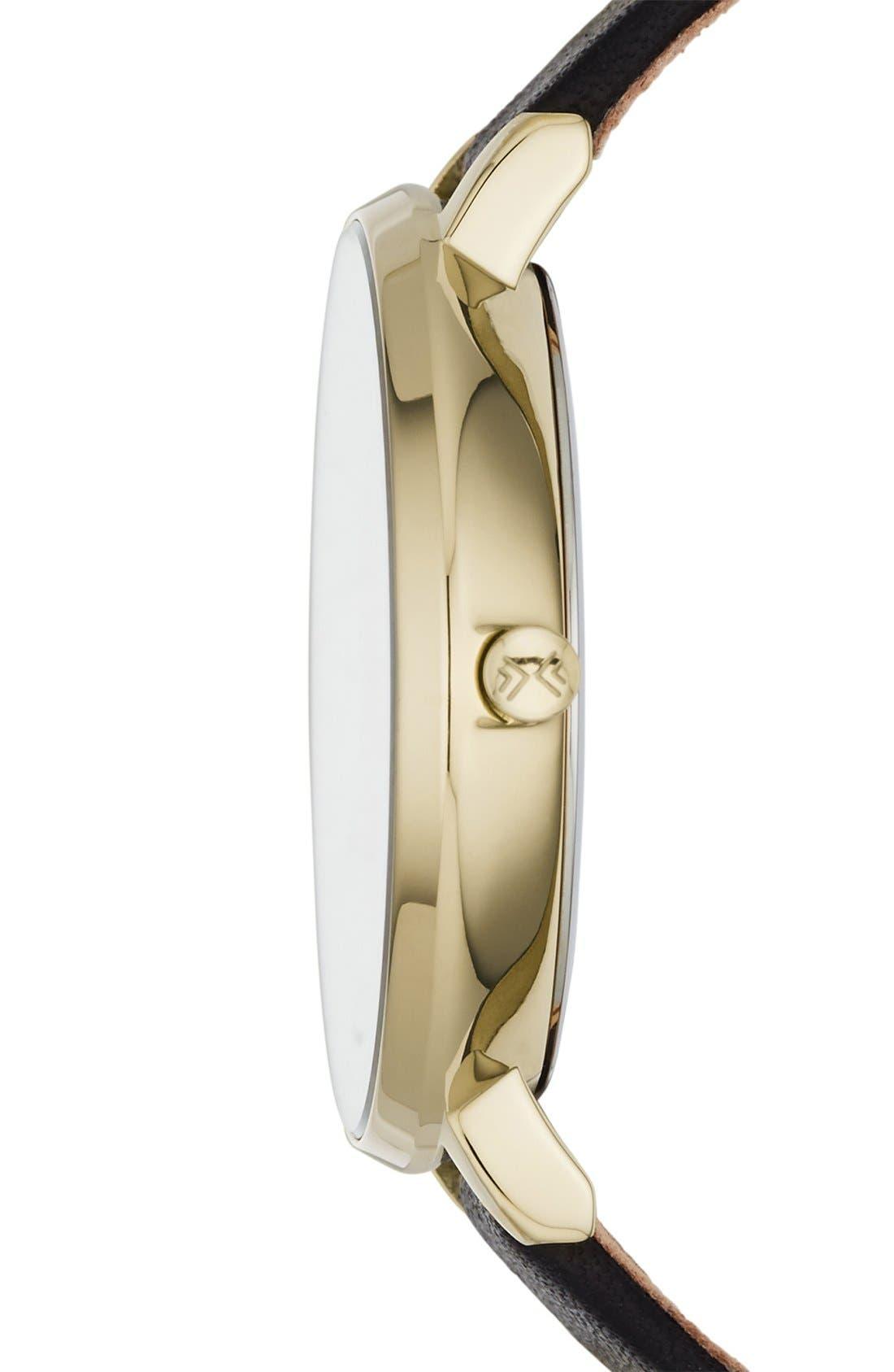 Alternate Image 3  - Skagen 'Ditte' Round Textured Dial Watch, 37mm (Nordstrom Exclusive)