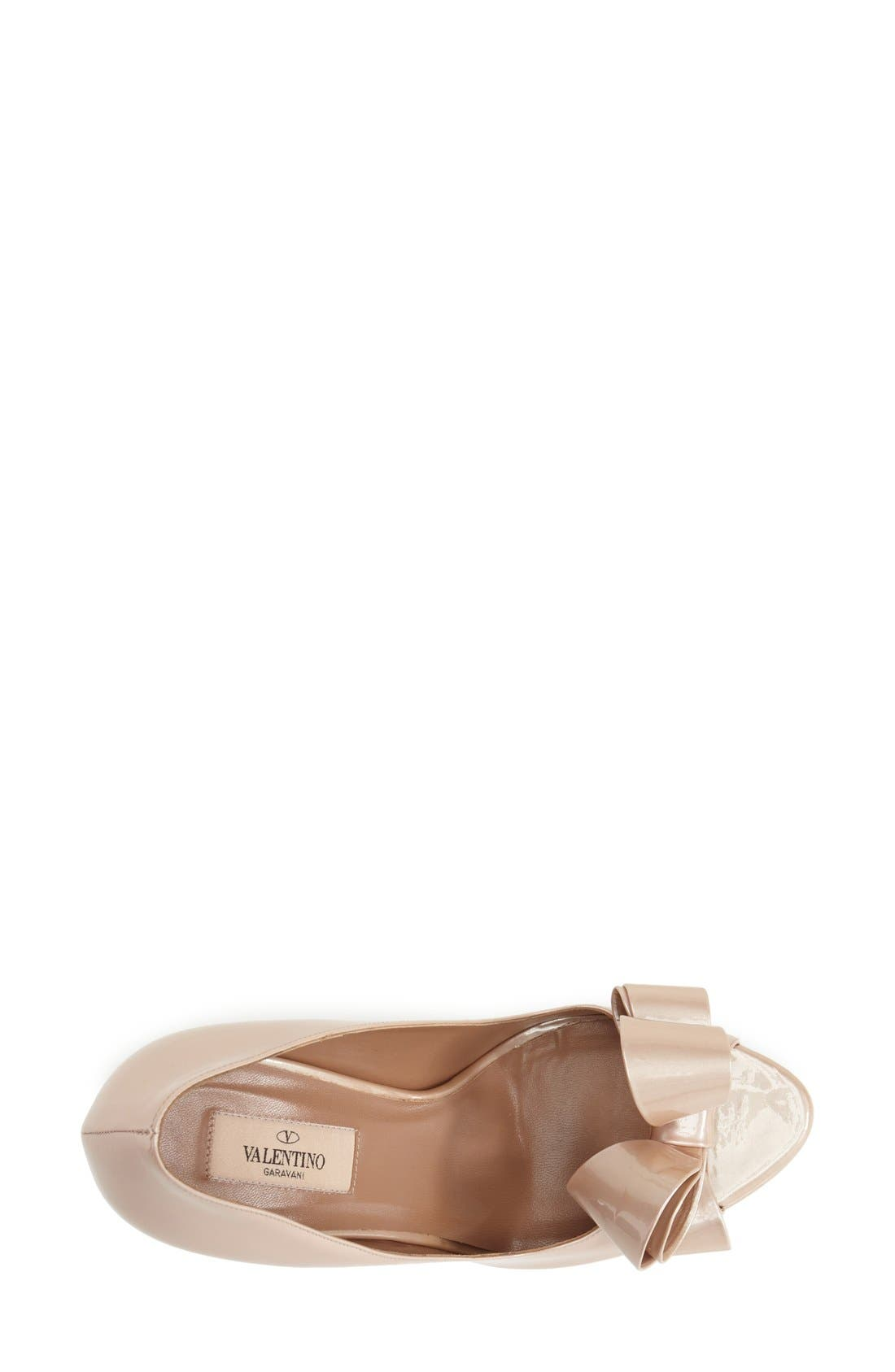 Alternate Image 3  - Valentino Couture Bow Platform Pump (Women)