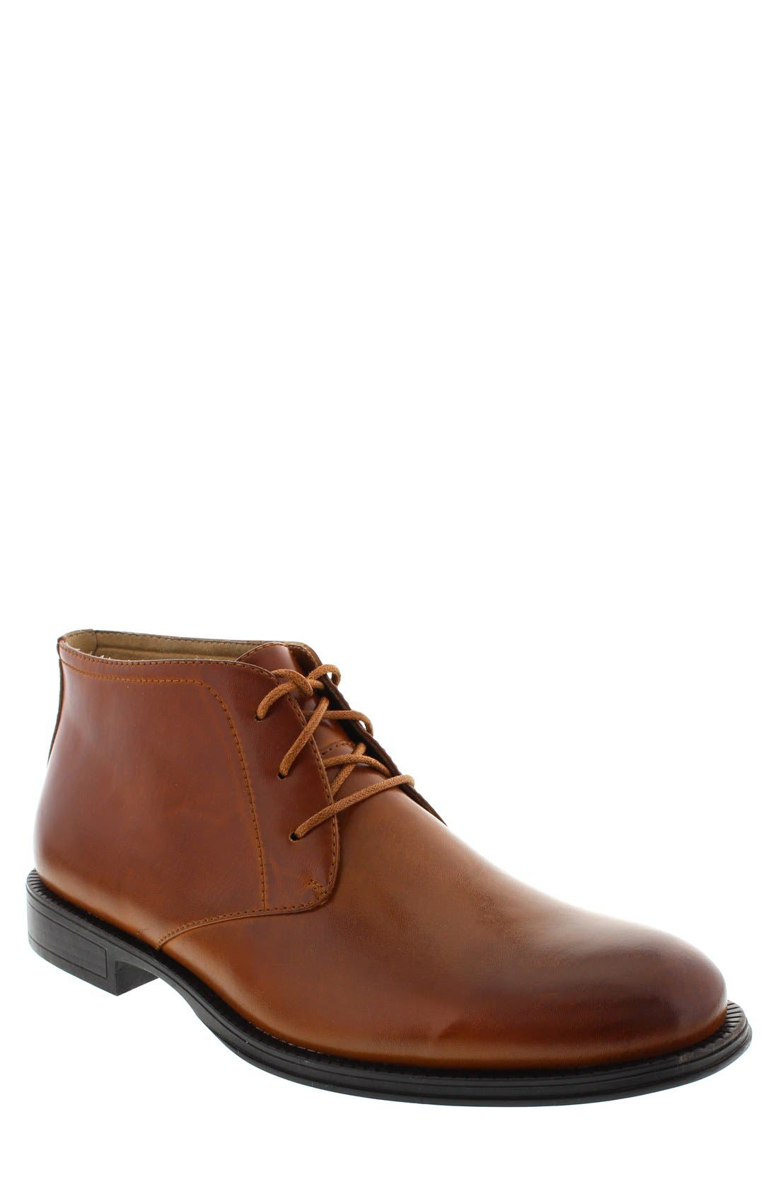 DEER STAGS 'Mean' Leather Chukka Boot