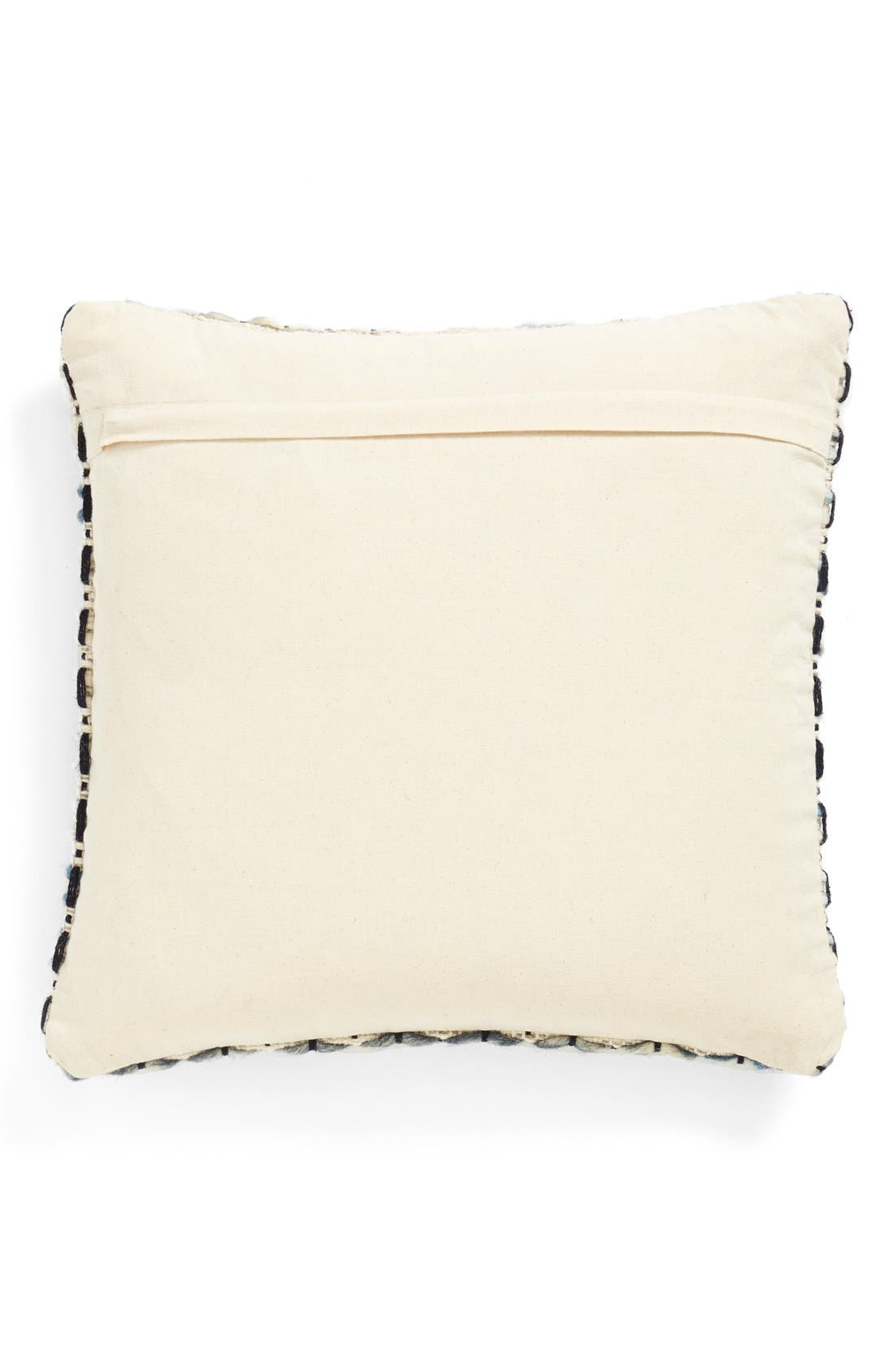 Alternate Image 2  - Brentwood Originals 'Knitted Lines' Jute Accent Pillow