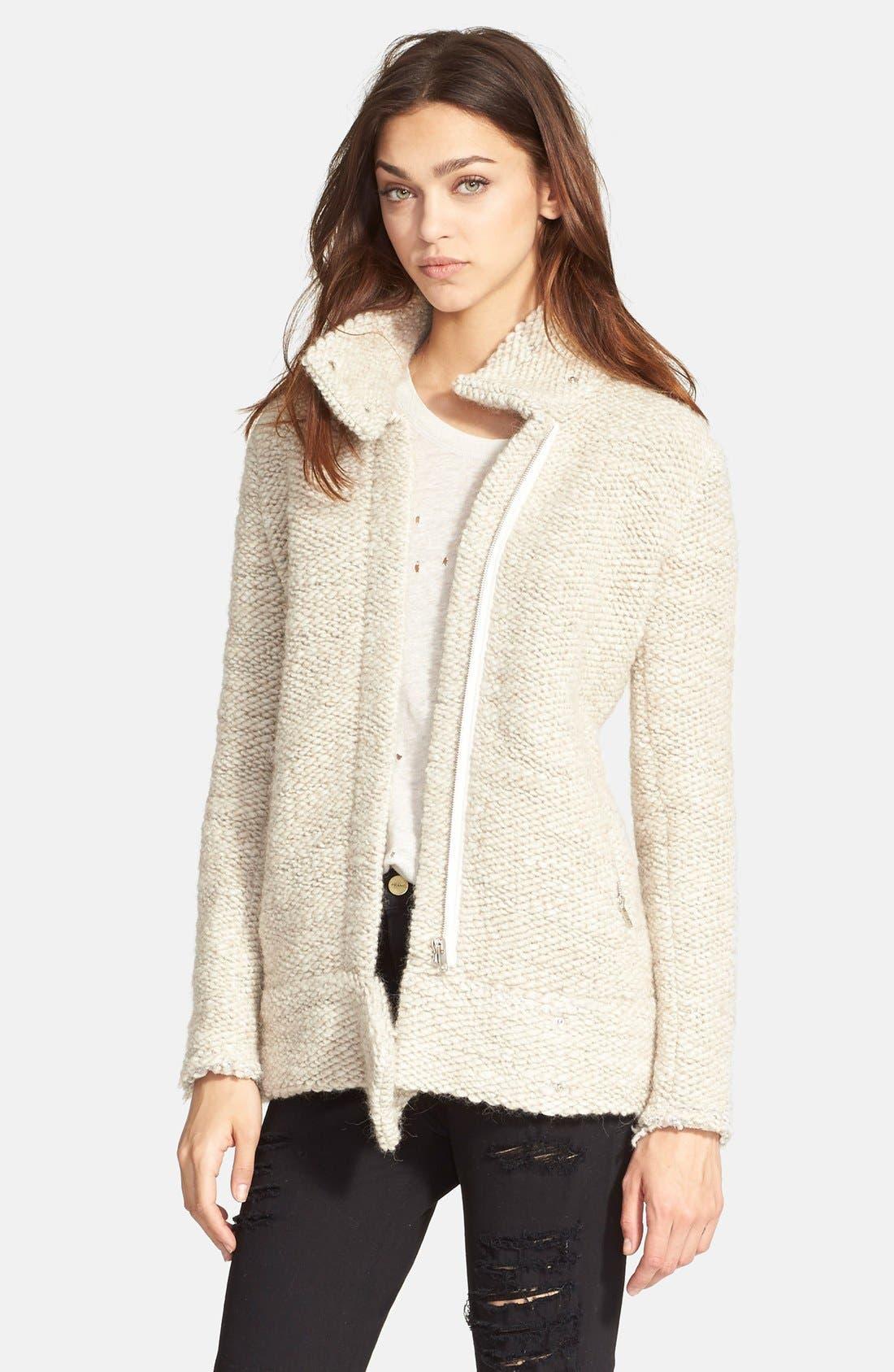 Alternate Image 1 Selected - IRO 'Ajuma' Chunky Knit Jacket
