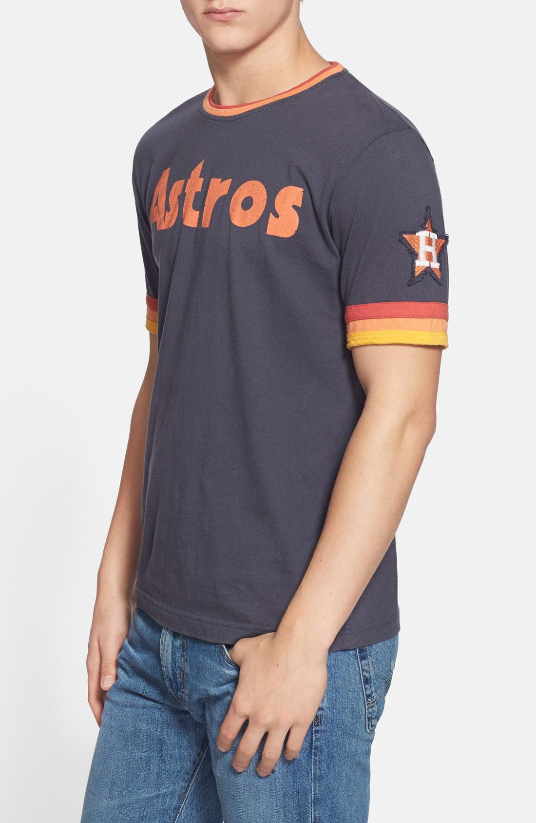 RED JACKET 'Houston Astros - Remote Control' T-Shirt