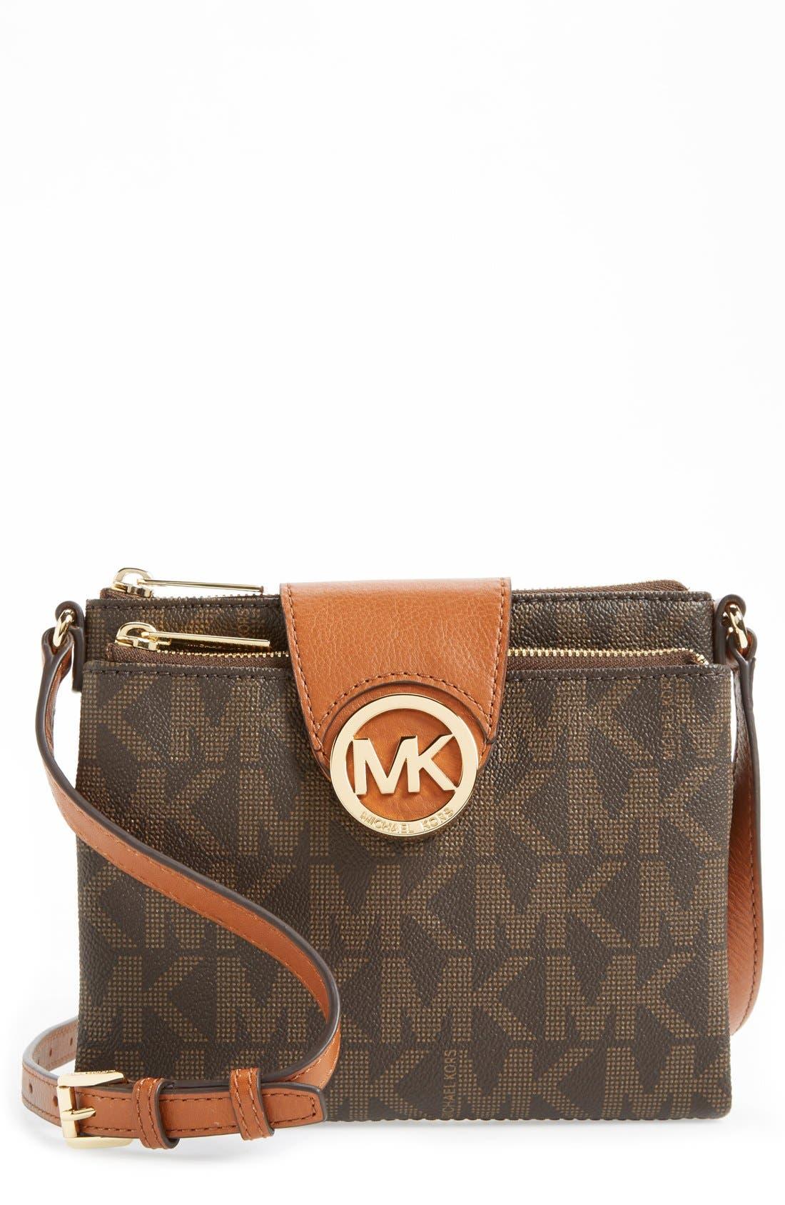 Main Image - MICHAEL Michael Kors 'Fulton - Large' Crossbody Bag