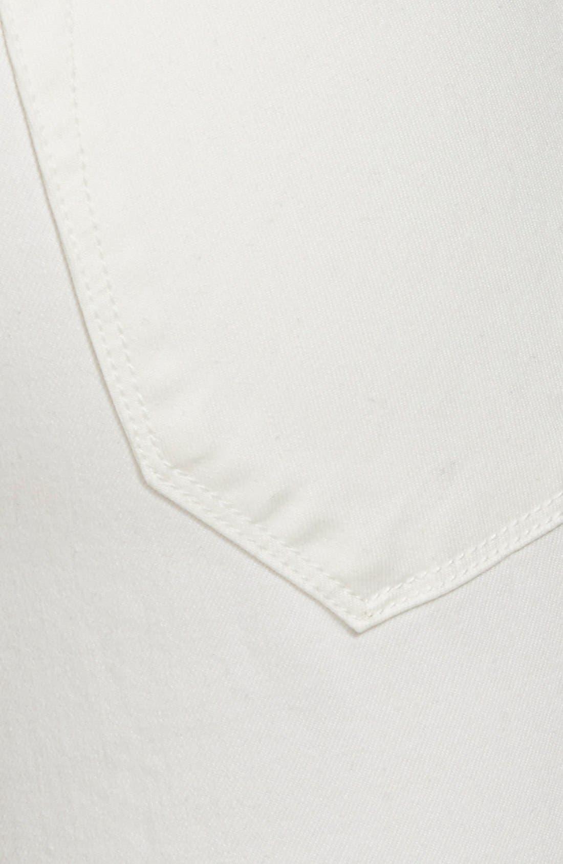 Alternate Image 3  - Vigoss 'Tomboy' Destroyed Skinny Jeans (Off White)