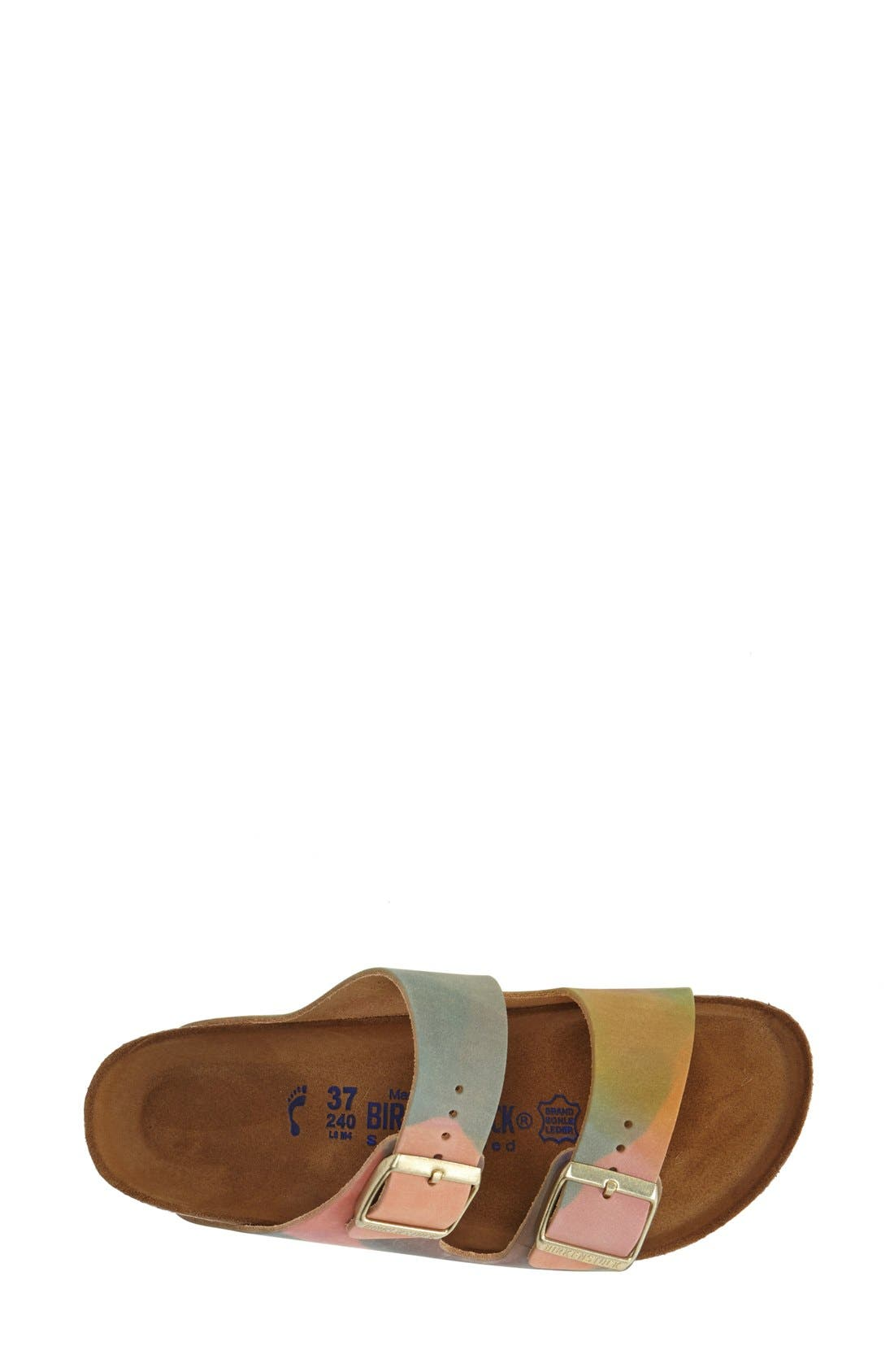 Alternate Image 3  - Birkenstock 'Arizona' Nubuck Leather Sandal (Women)