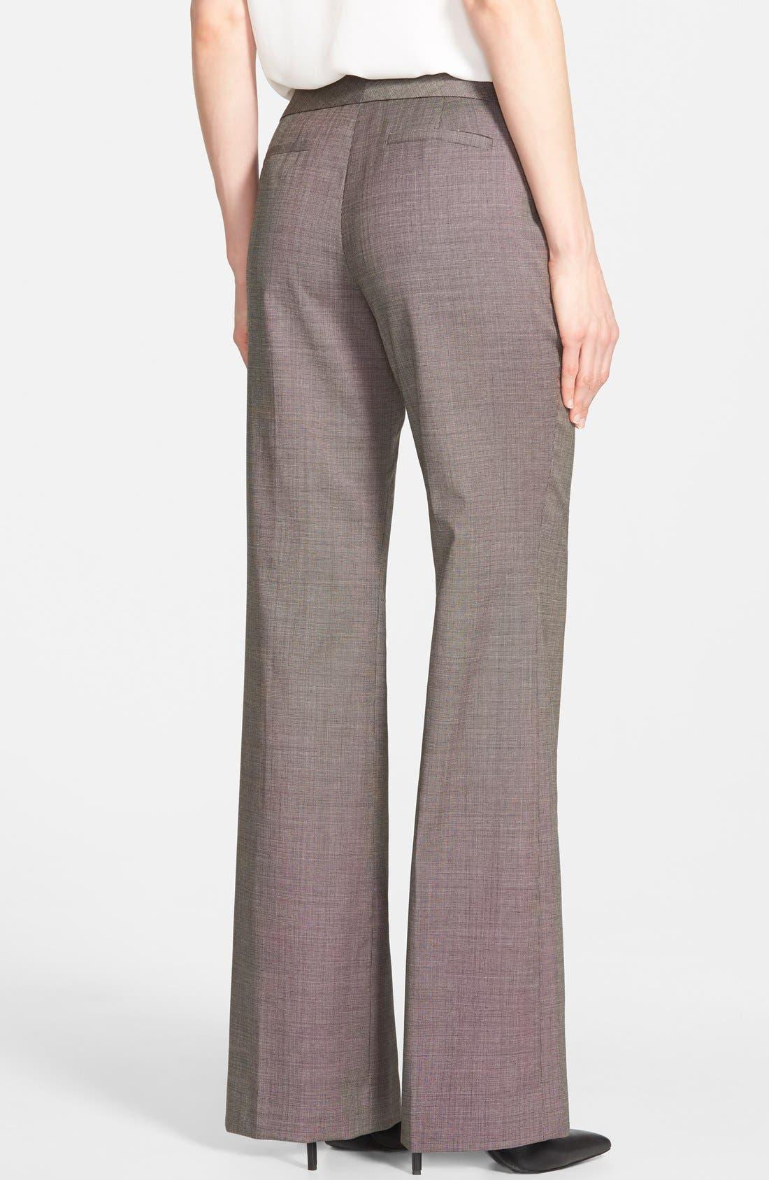 Alternate Image 2  - Classiques Entier® Wool Suiting Pants (Regular & Petite)
