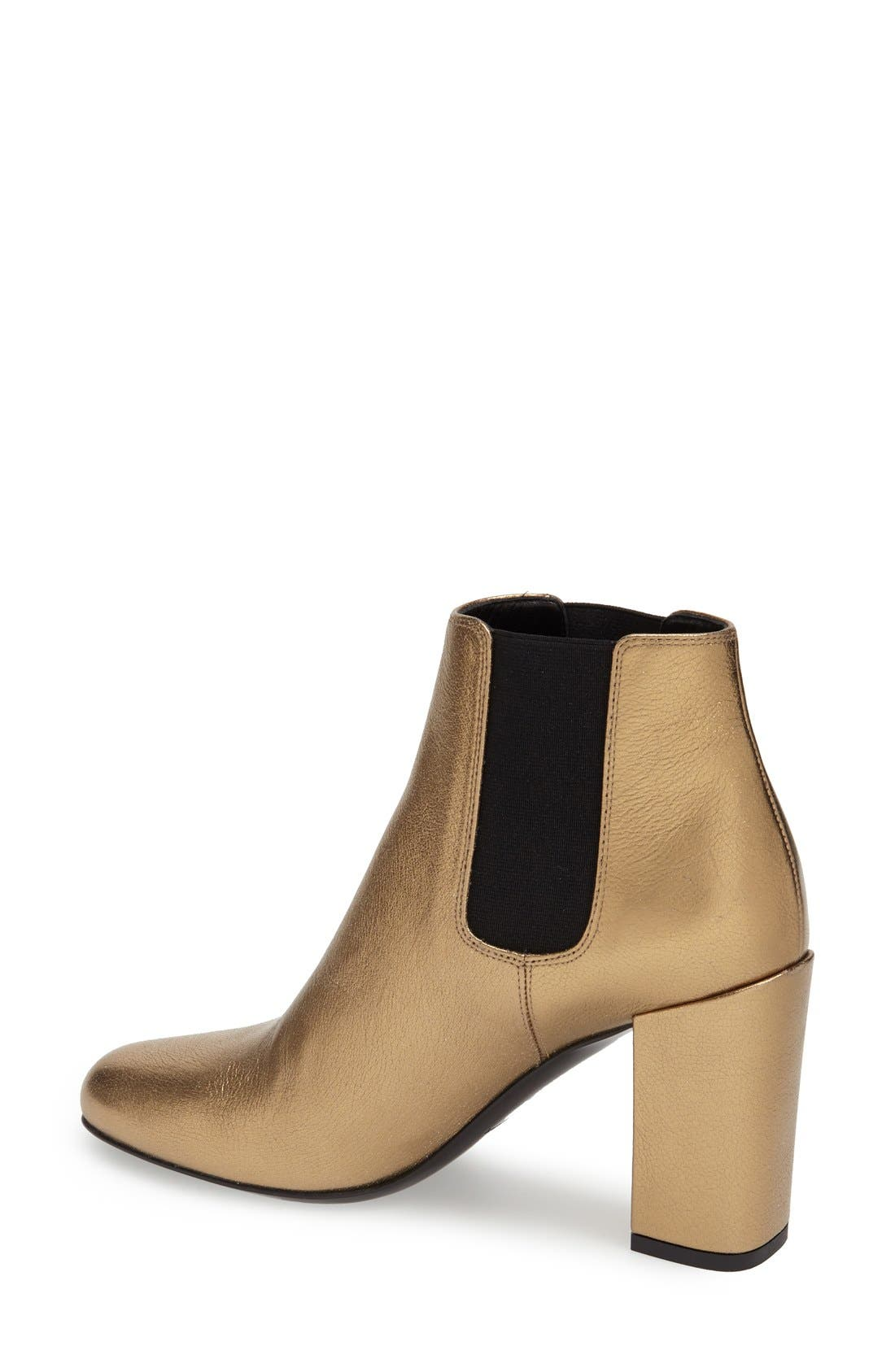 Alternate Image 2  - Saint Laurent 'Babies' Chelsea Boot (Women)