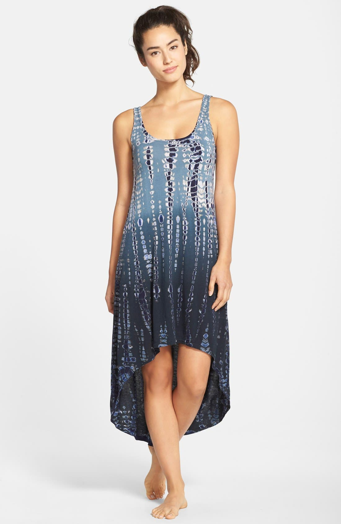 Alternate Image 1 Selected - Hard Tail High/Low Knit Dress