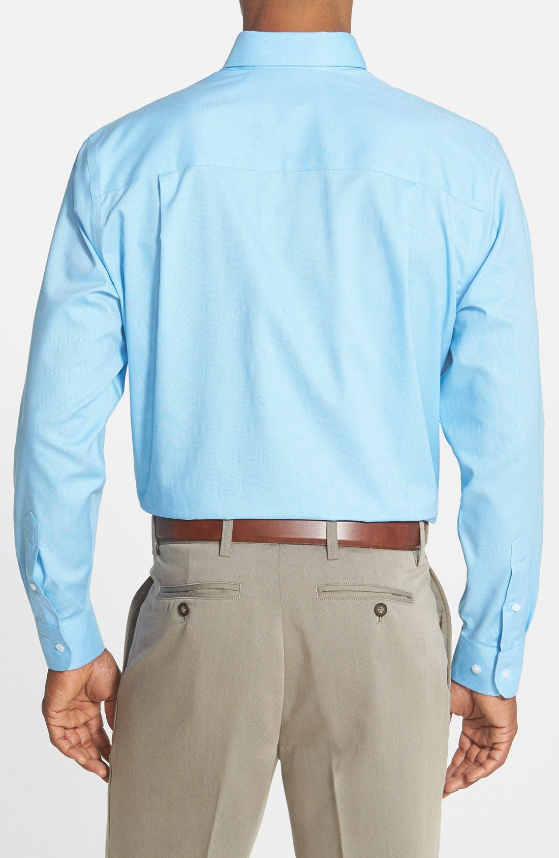 Alternate Image 3  - Cutter & Buck 'Nailshead' Classic Fit Sport Shirt (Online Only)