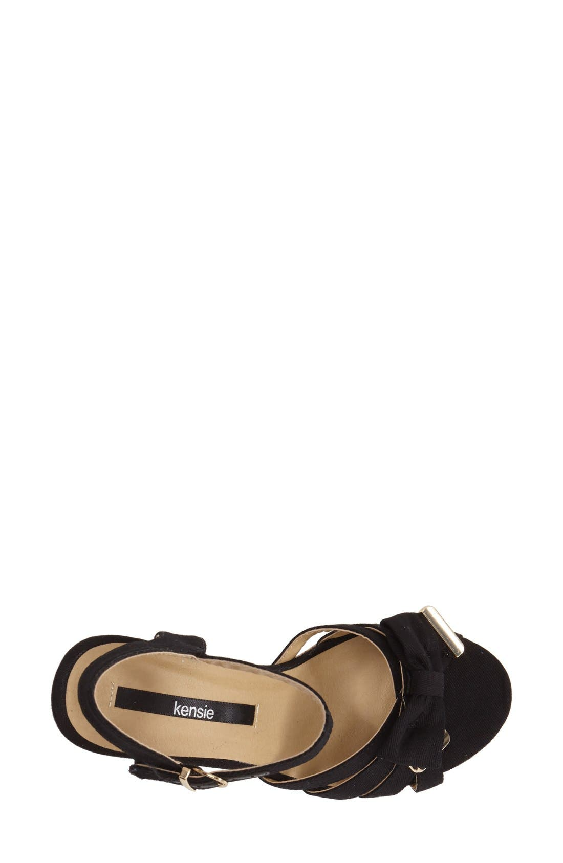 Alternate Image 3  - kensie 'Rayna' Wedge Sandal (Women)