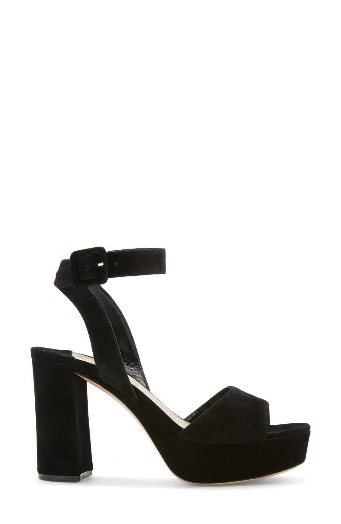Alternate Image 4  - Miu Miu Block Heel Platform Sandal (Women)