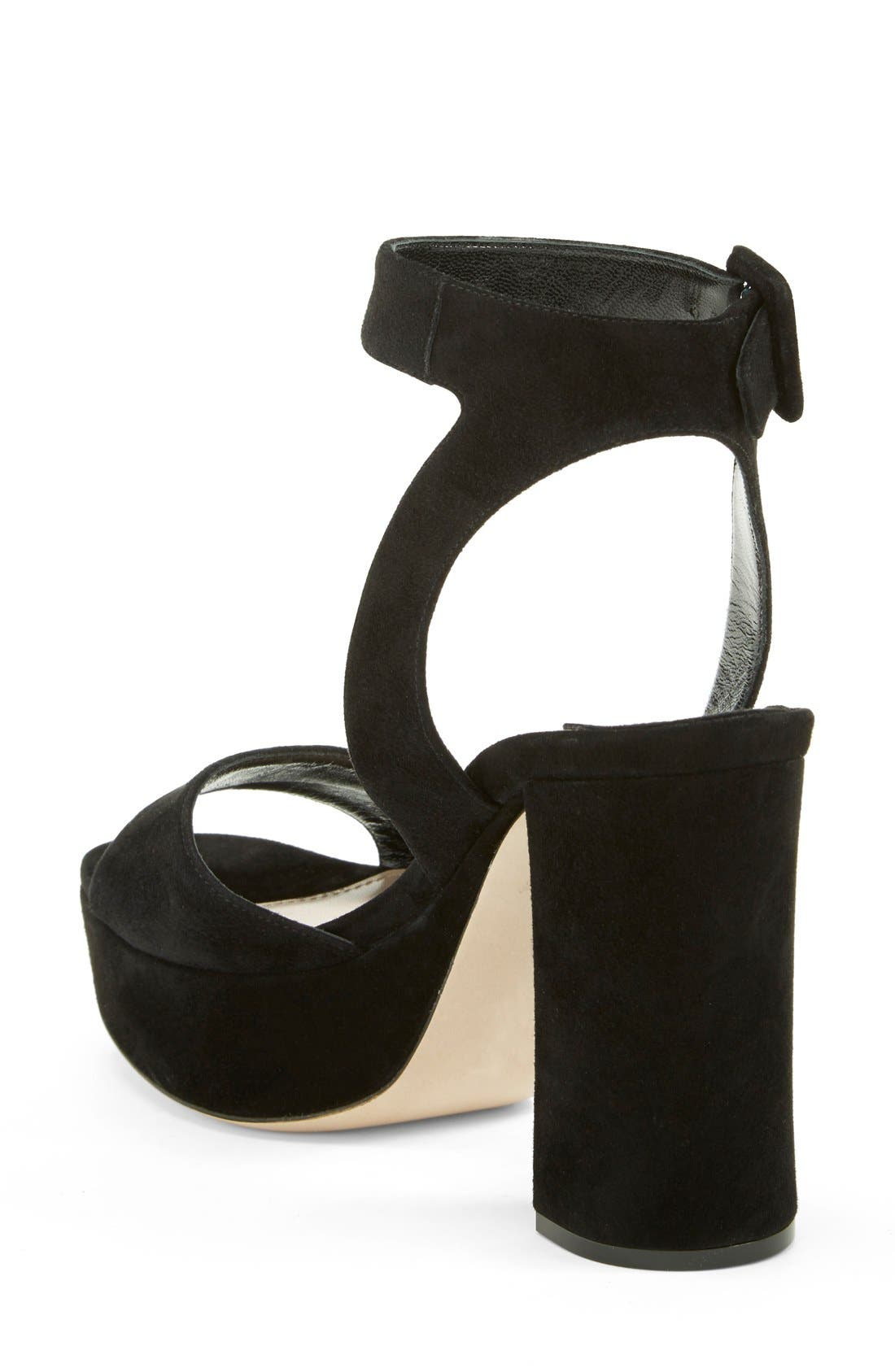 Alternate Image 2  - Miu Miu Block Heel Platform Sandal (Women)