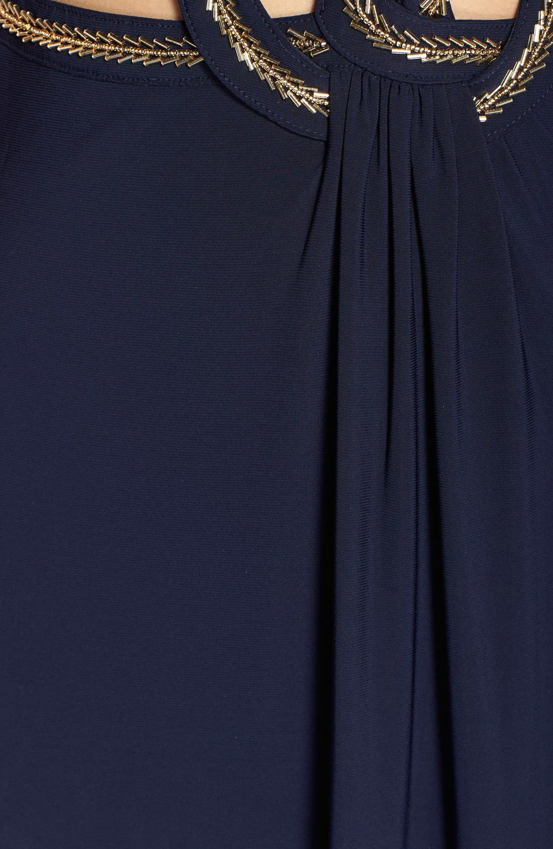 Alternate Image 3  - Betsy & Adam Cutout Jersey Gown