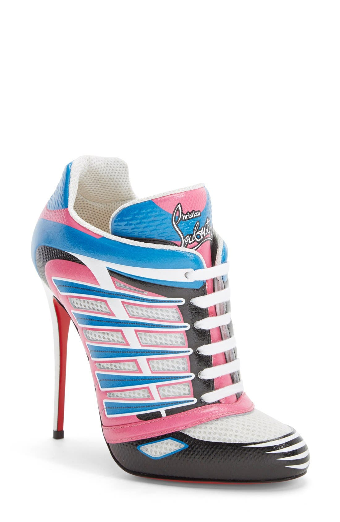 Main Image - Christian Louboutin 'Boltina' Lace-Up Bootie