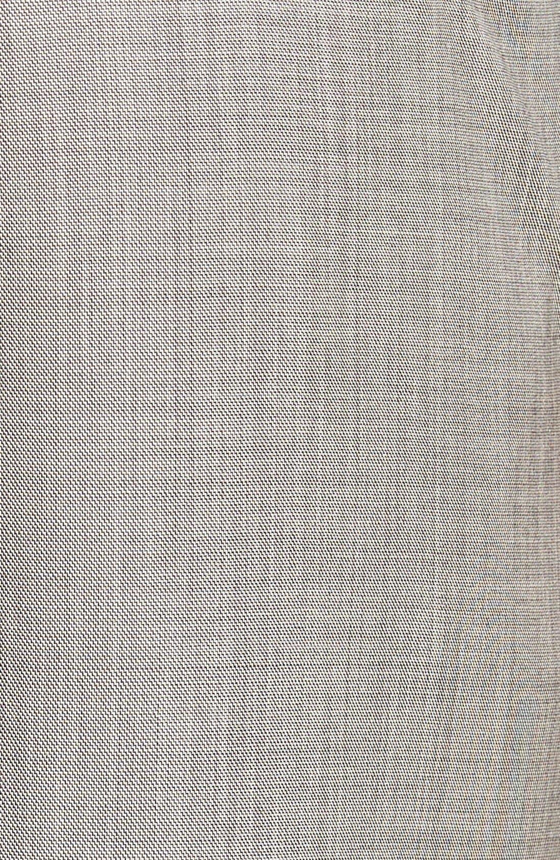 Alternate Image 3  - Ted Baker London Jefferson Flat Front Wool Trousers