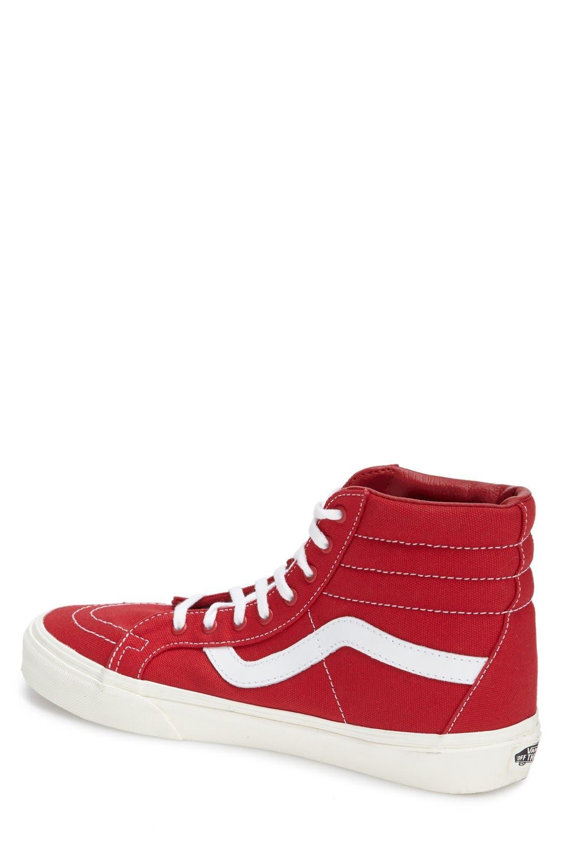 Alternate Image 2  - Vans 'Sk8-Hi Reissue' Sneaker (Men)