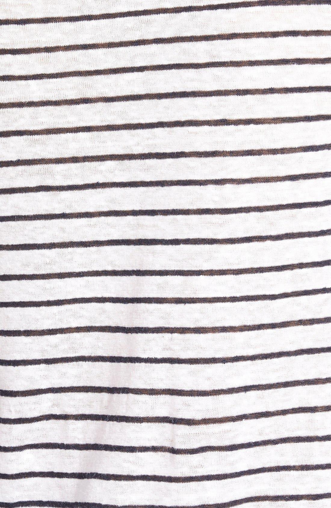 Alternate Image 3  - Amour Vert 'Stassi' Stripe Long Sleeve Tee