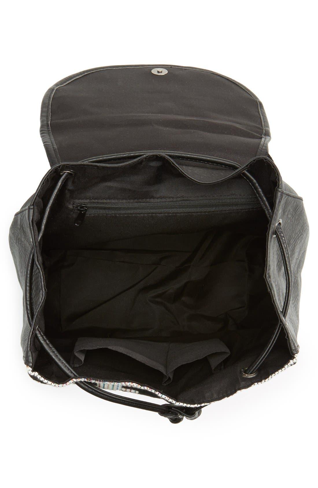 Alternate Image 3  - Dolce Girl Fringe Backpack