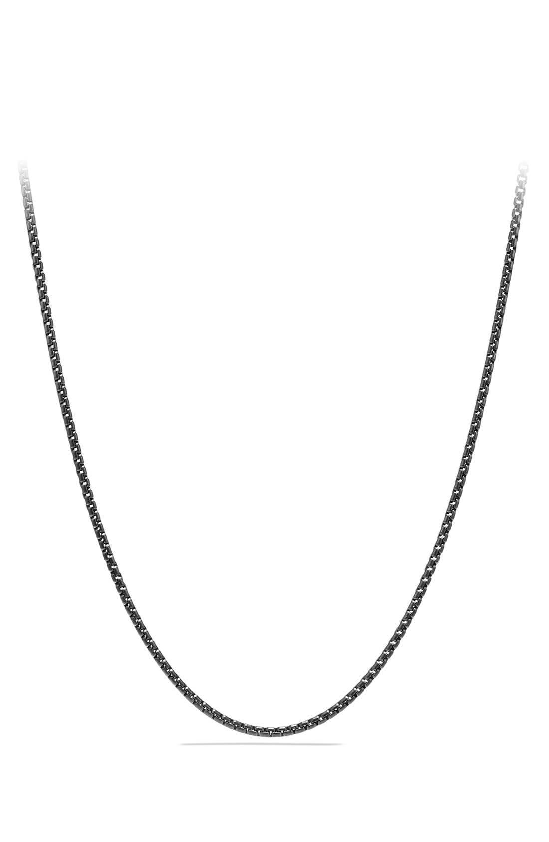 Alternate Image 1 Selected - David Yurman Small Black Box Chain