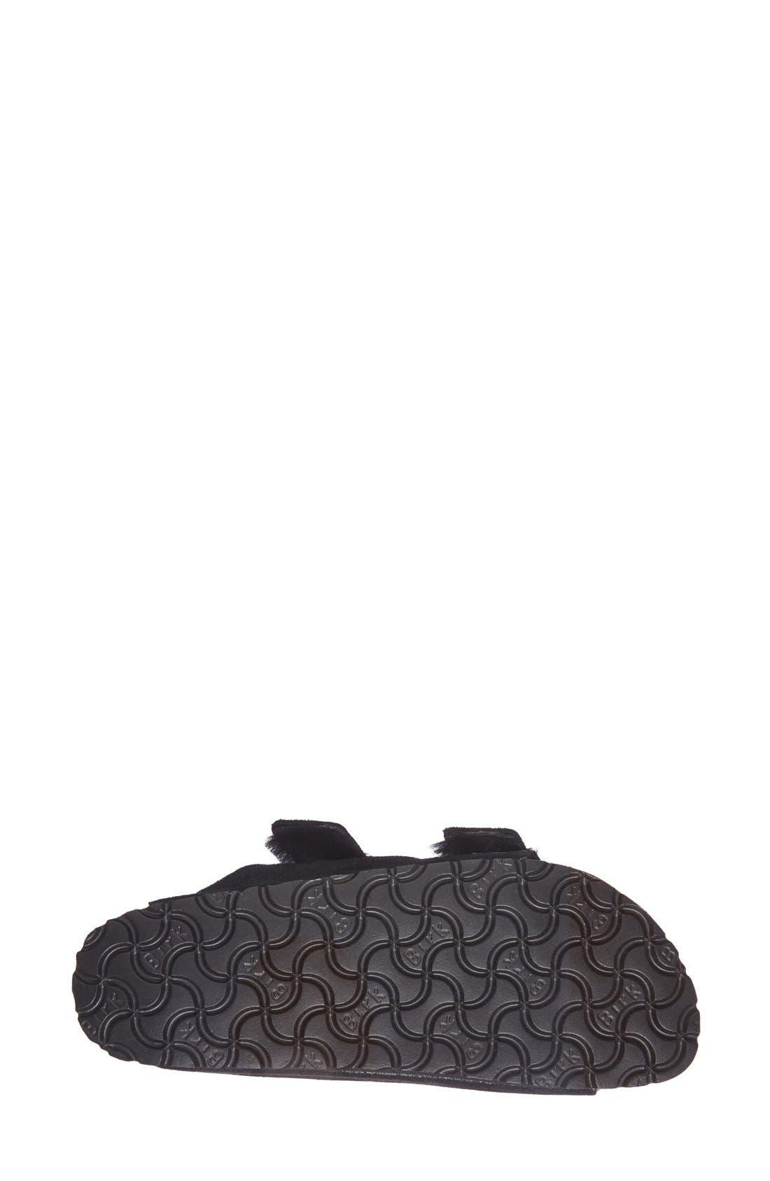 Alternate Image 4  - Birkenstock 'Arizona' Genuine Shearling Lined Sandal (Women)