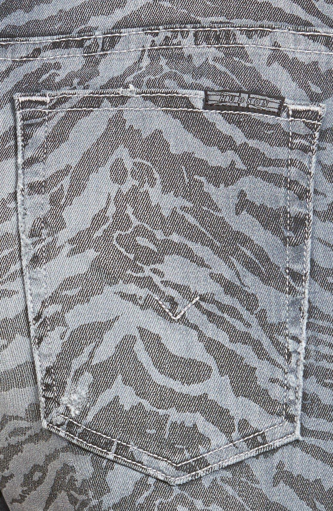 Alternate Image 3  - Hudson Jeans 'Tori Vice Versa' Cutoff Denim Shorts (Twin Coast)
