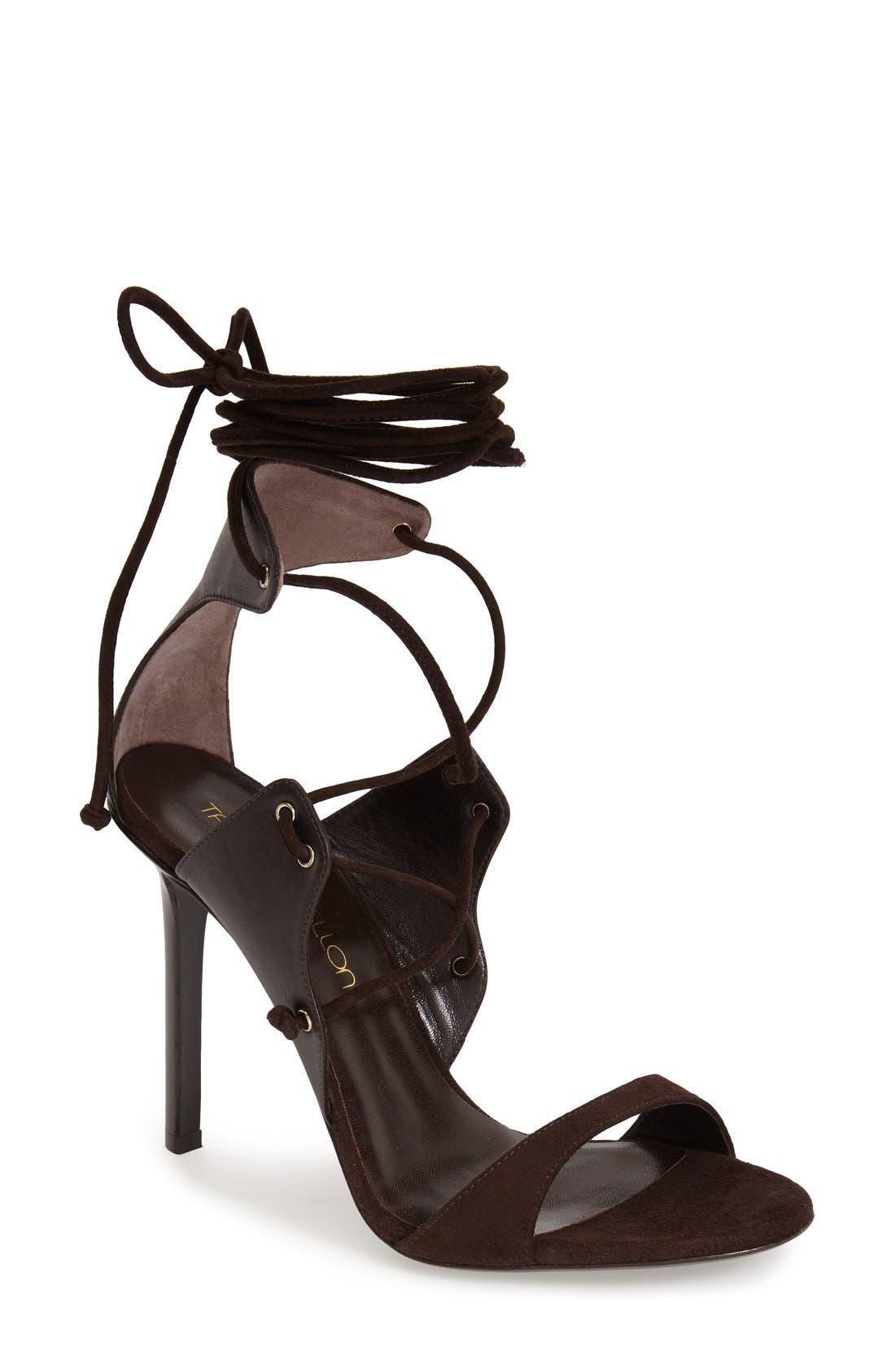 Alternate Image 1 Selected - Tamara Mellon 'Gladiatrix' Lace-Up Sandal (Women)