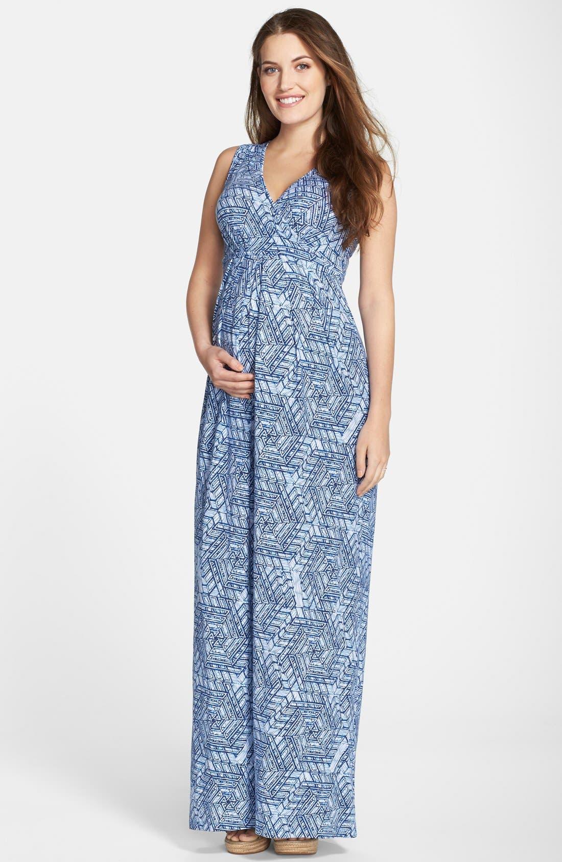 Alternate Image 1 Selected - Tart Maternity 'Marsha' Maxi Maternity Dress