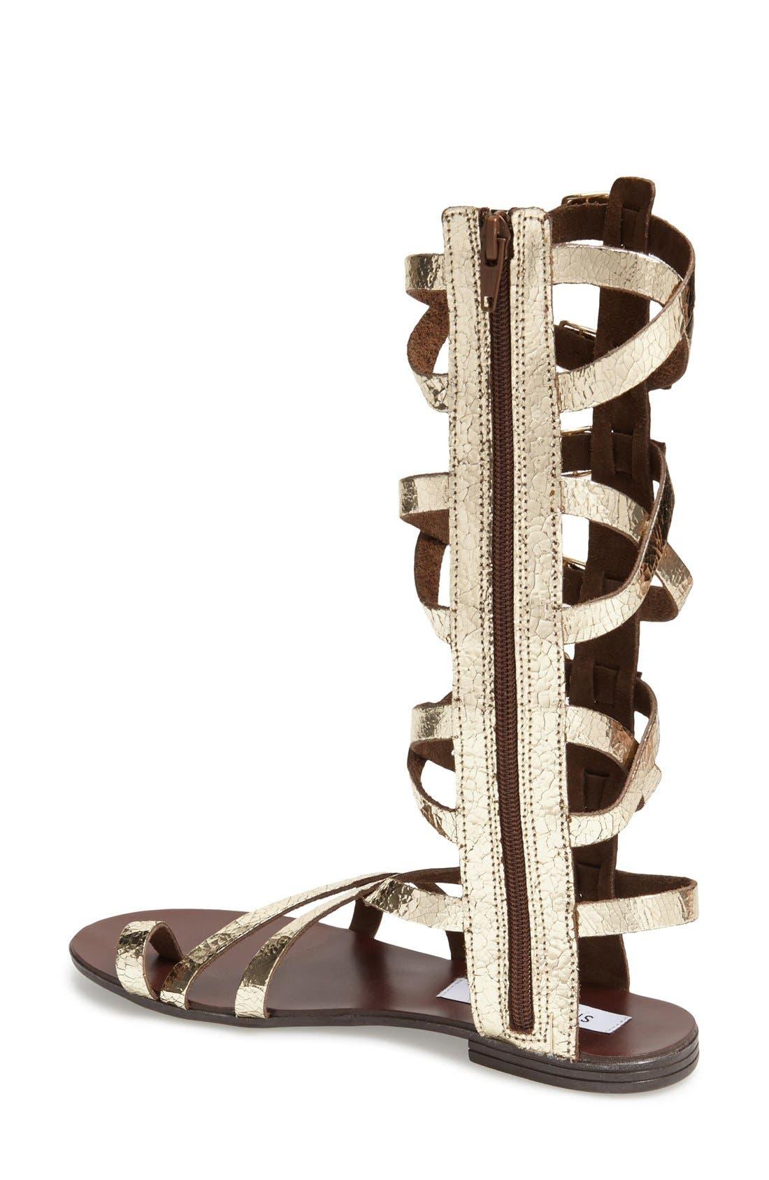 Alternate Image 2  - Steve Madden 'Rivaal' Tall Gladiator Sandal (Women)