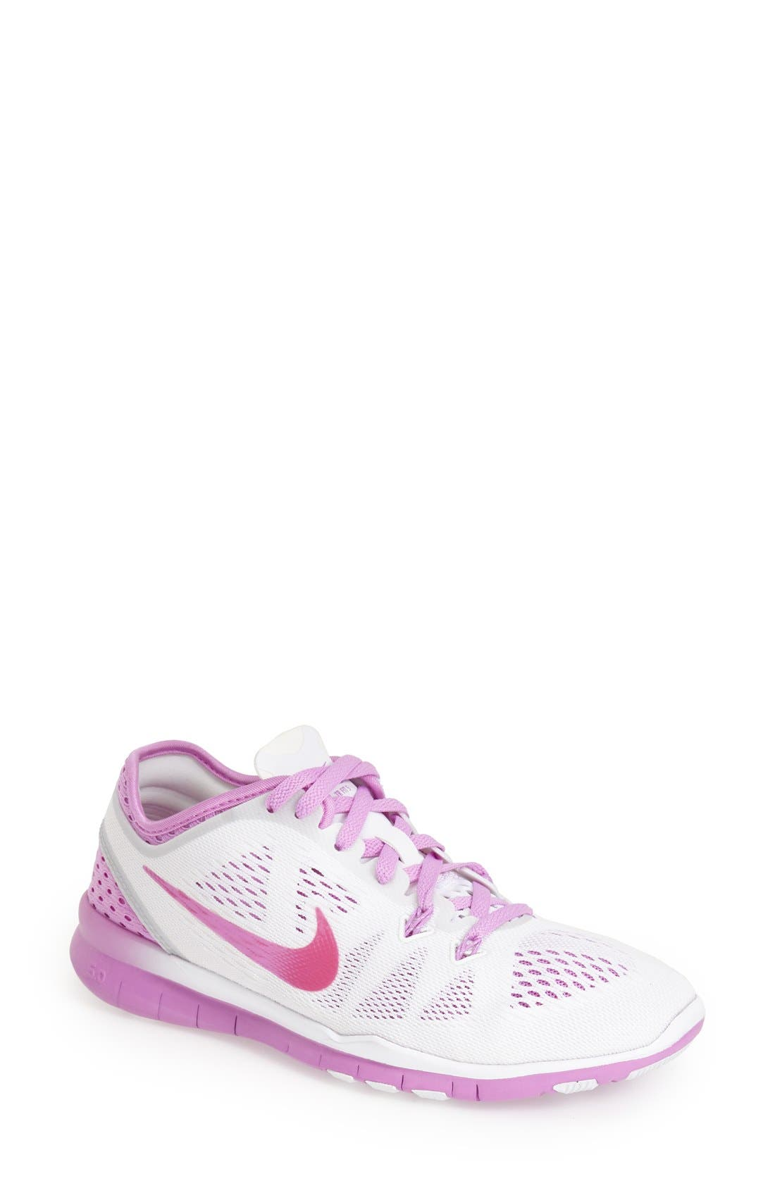 Alternate Image 1 Selected - Nike 'Free 5.0 TR Fit 5 Breathe' Training Shoe (Women)
