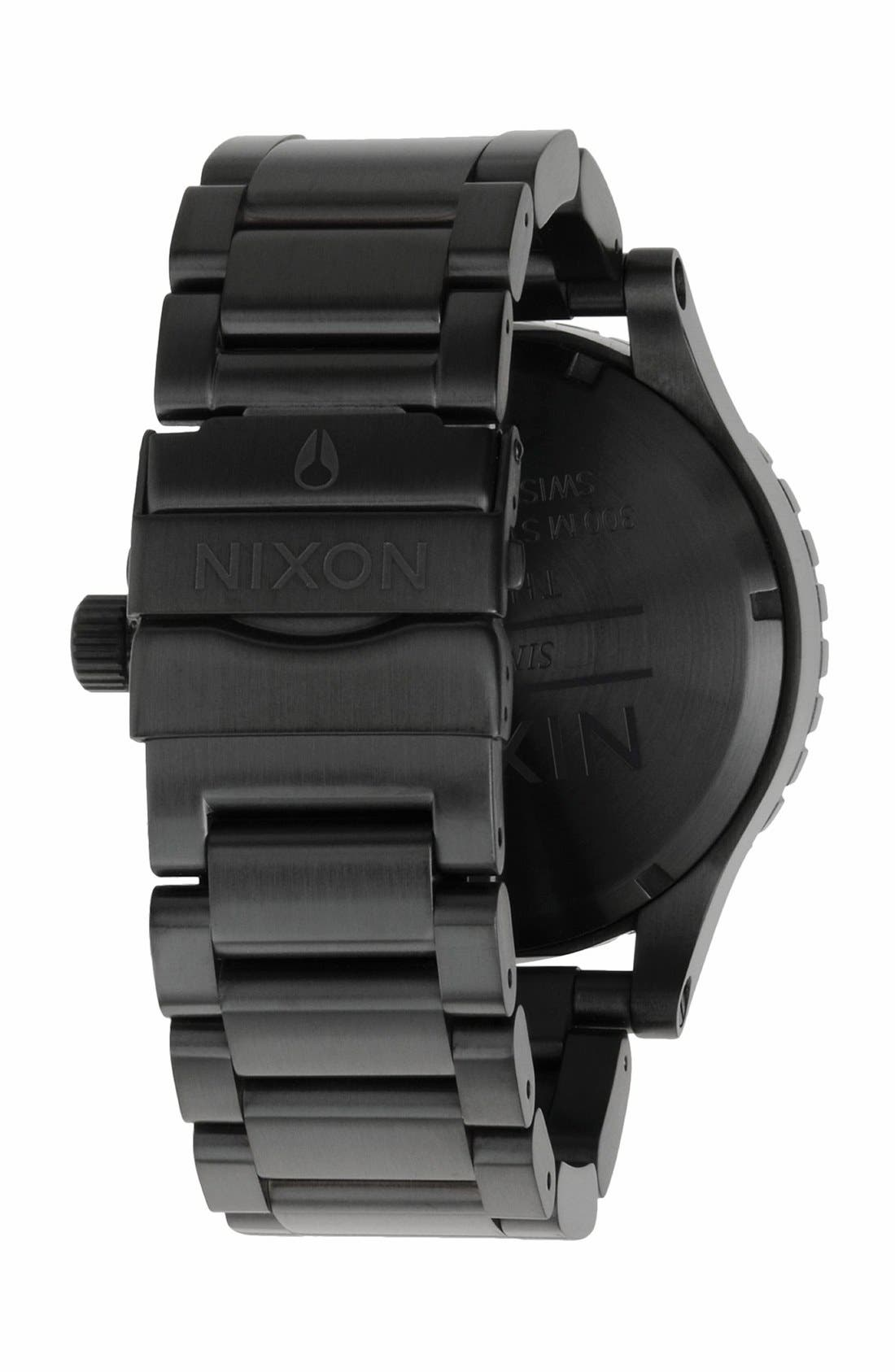 Alternate Image 2  - Nixon 'The 51-30' Bracelet Watch, 51mm
