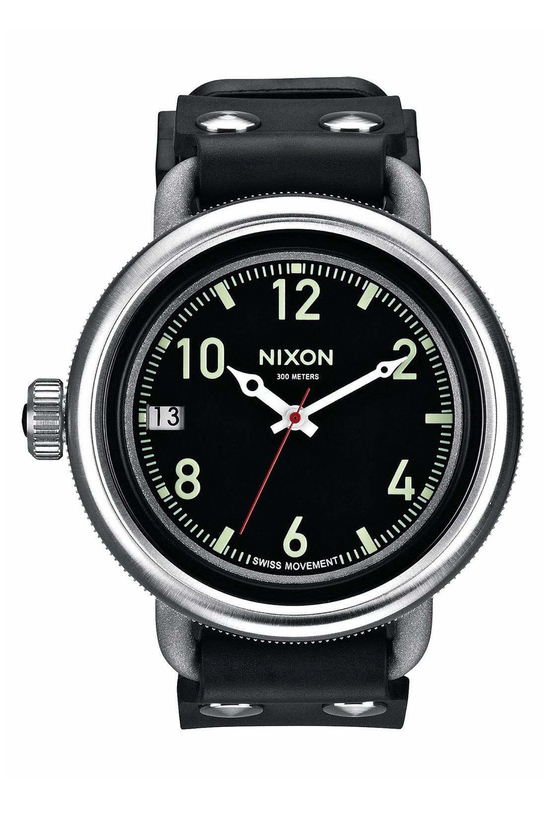 Alternate Image 1 Selected - Nixon 'The October' Watch, 48mm