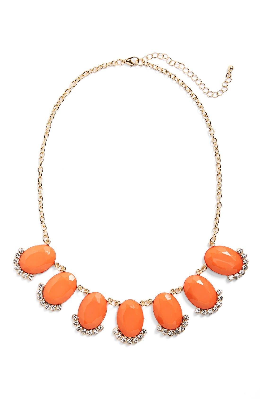 Alternate Image 1 Selected - BP. Stone Statement Necklace