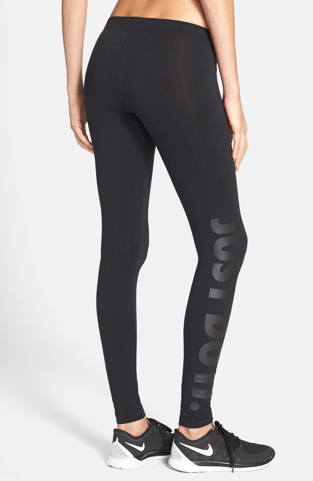Alternate Image 2  - Nike 'Leg-A-See' Leggings
