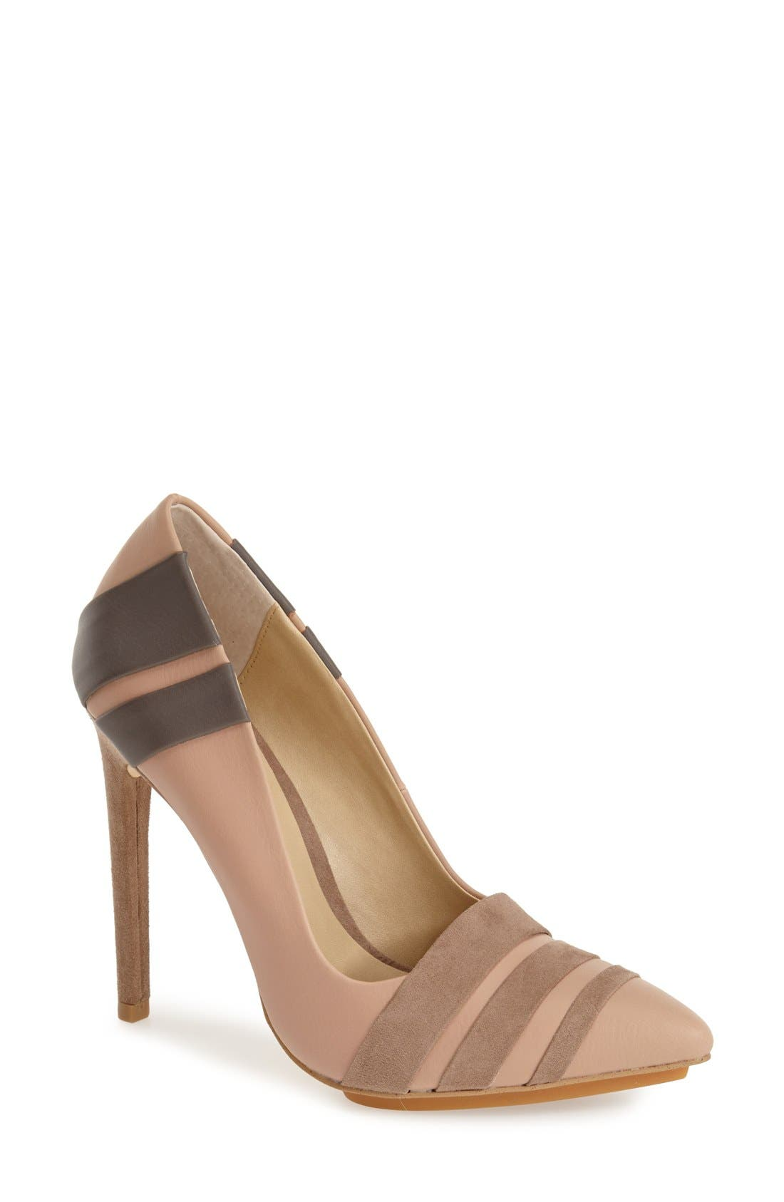 Alternate Image 1 Selected - gx by Gwen Stefani 'Cage' Pointy Toe Pump (Women)