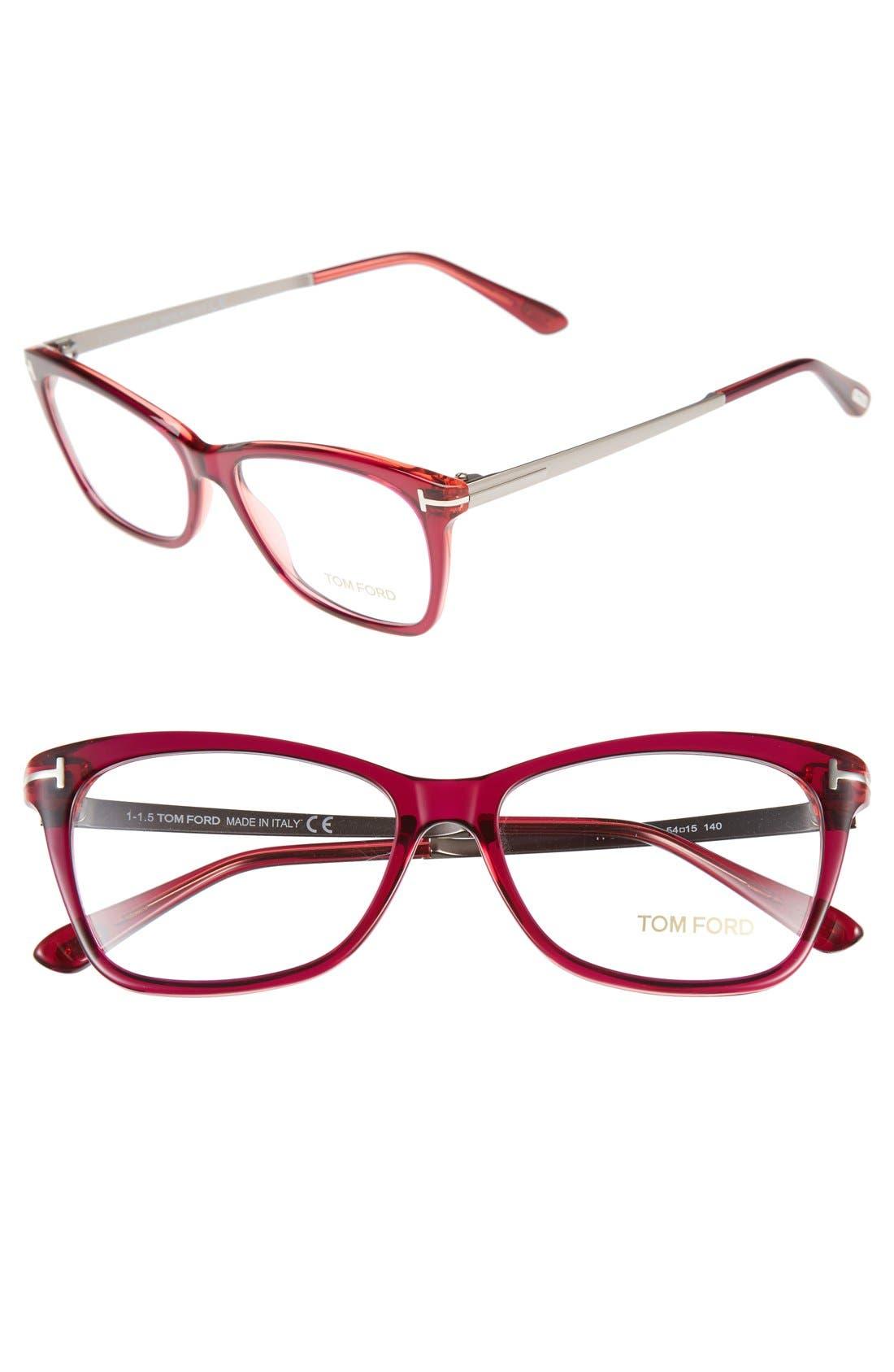 Main Image - Tom Ford 54mm Optical Glasses