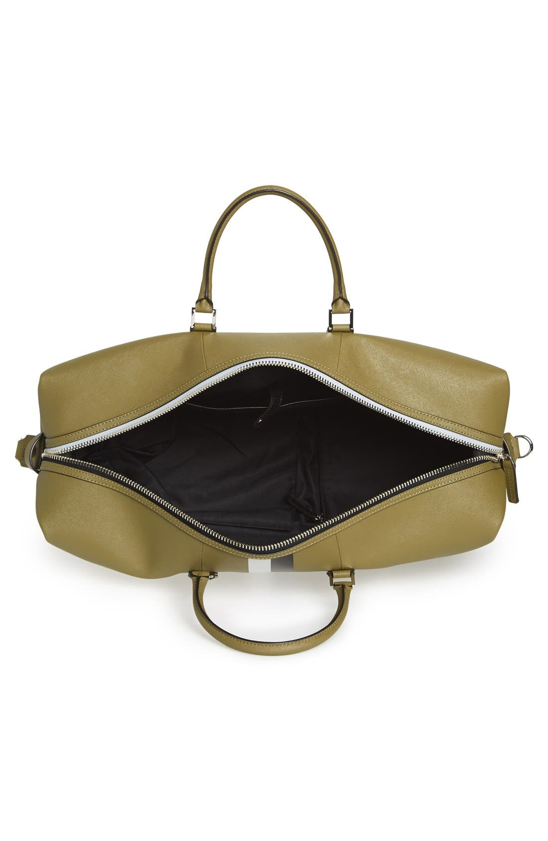 Alternate Image 4  - Ben Minkoff 'Wythe' Weekend Size Saffiano Leather Duffel Bag