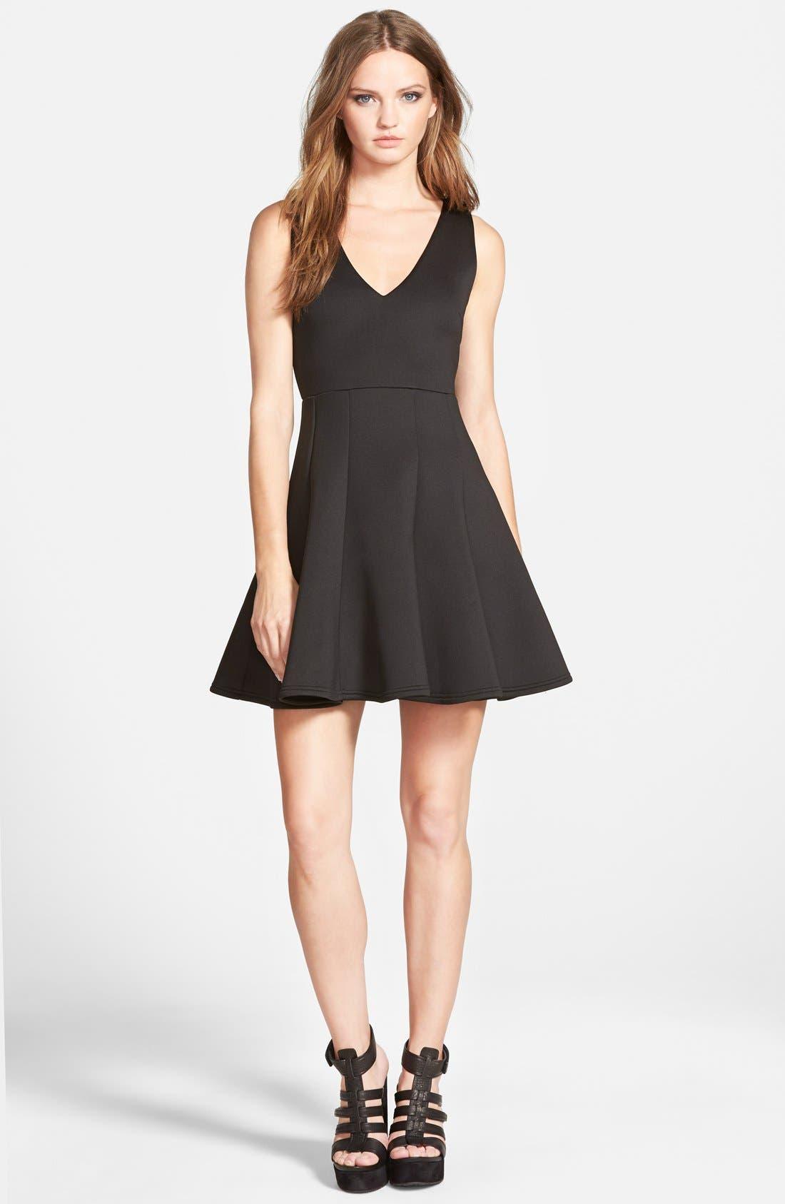 Alternate Image 1 Selected - MINKPINK 'Stagnant' Jersey Fit & Flare Dress