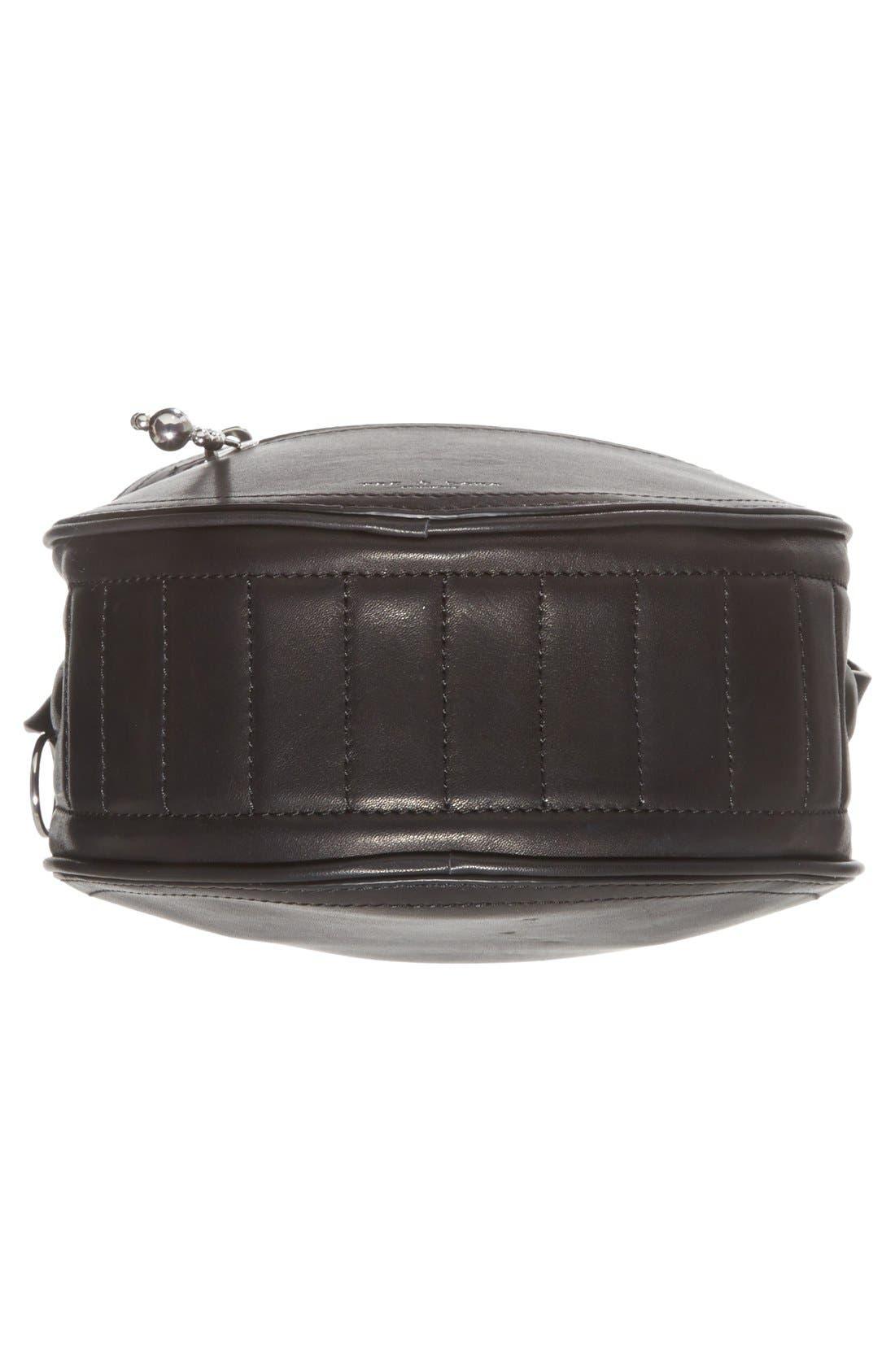 Alternate Image 6  - rag & bone 'Circle' Leather Crossbody Bag
