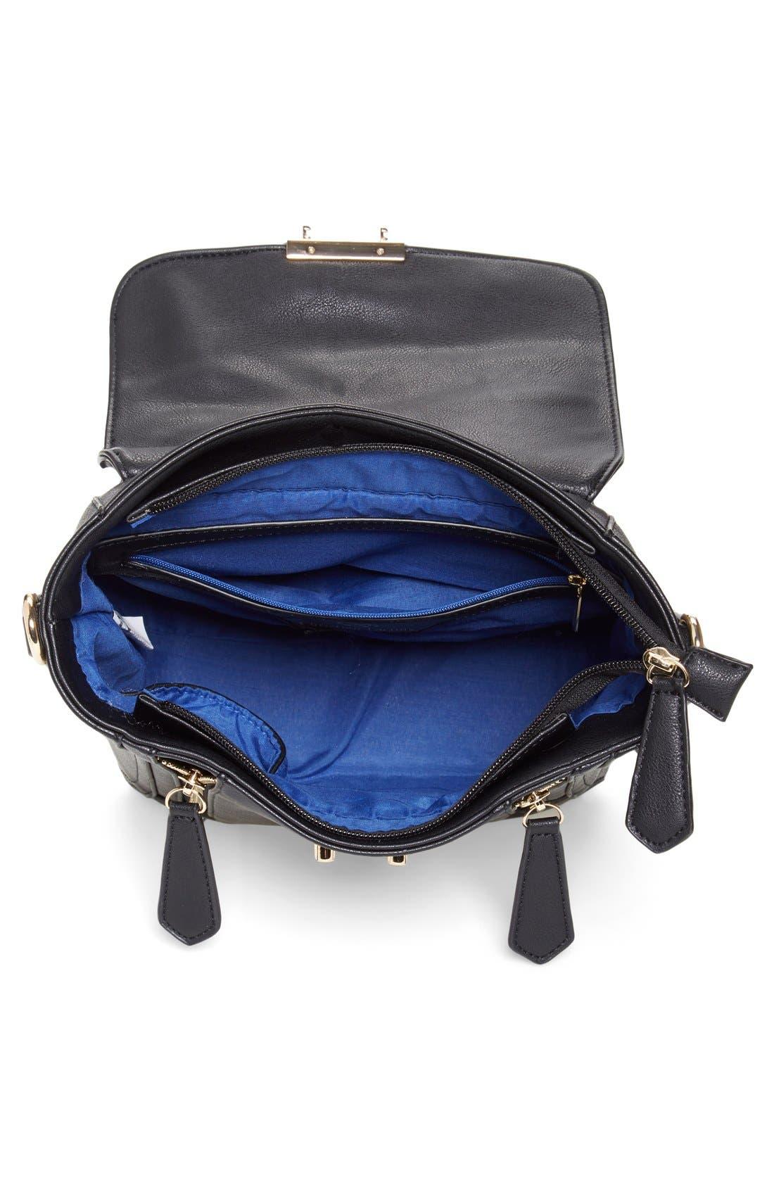 Alternate Image 4  - CXL by Christian Lacroix 'Mini Chartres' Messenger Bag