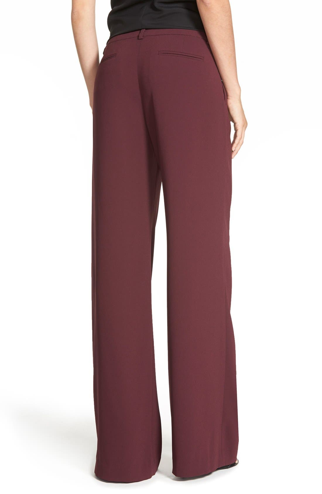 Alternate Image 3  - Chelsea28 Pleated Wide Leg Pants