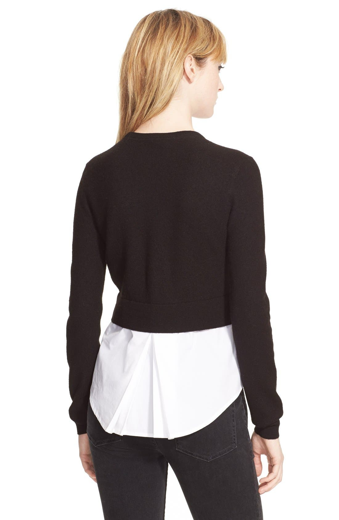 Alternate Image 2  - MARC BY MARC JACOBS 'Superfelt'Shirttail Sweater