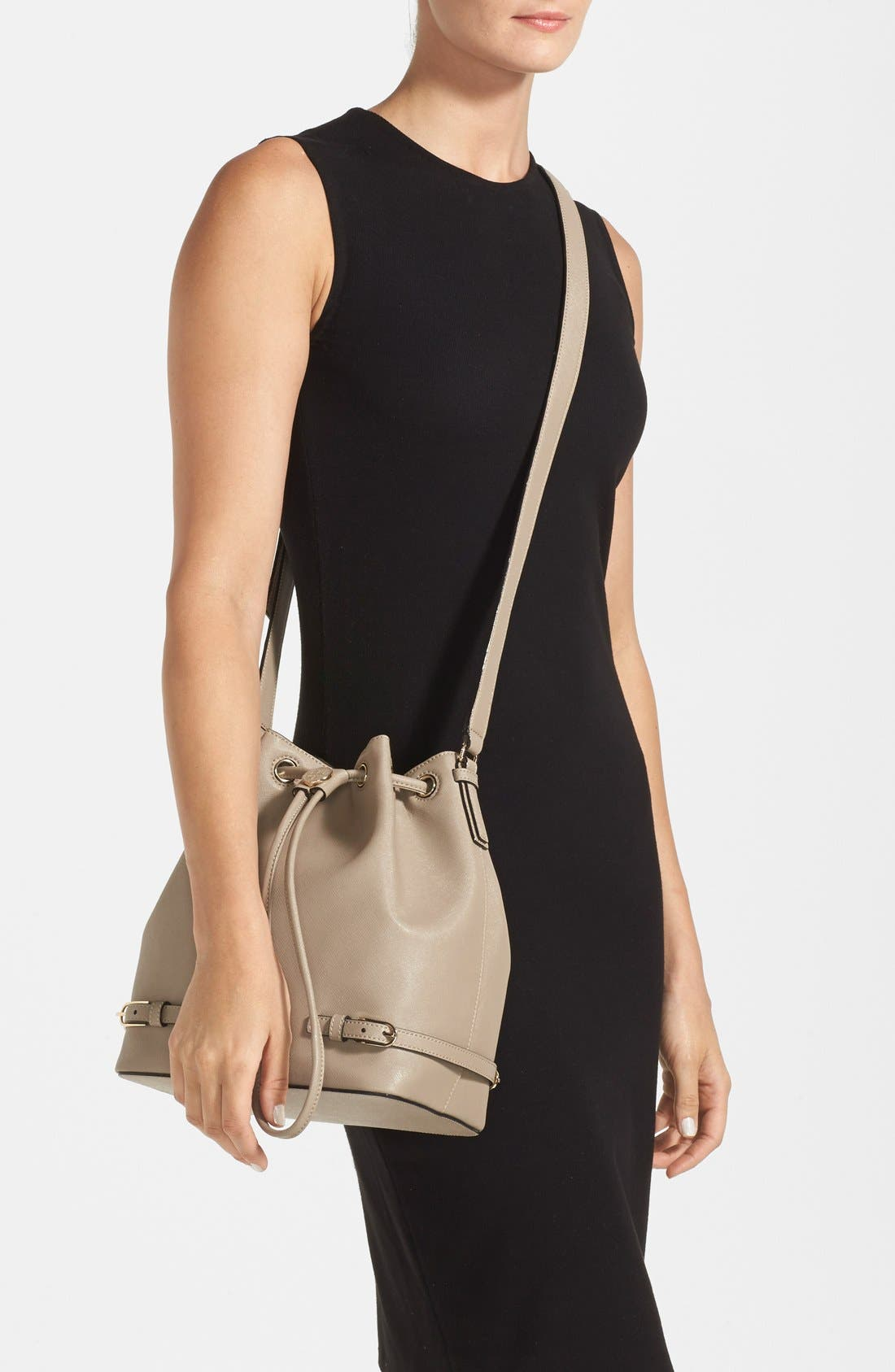 Alternate Image 2  - Tory Burch 'Robinson' Saffiano Leather Bucket Bag